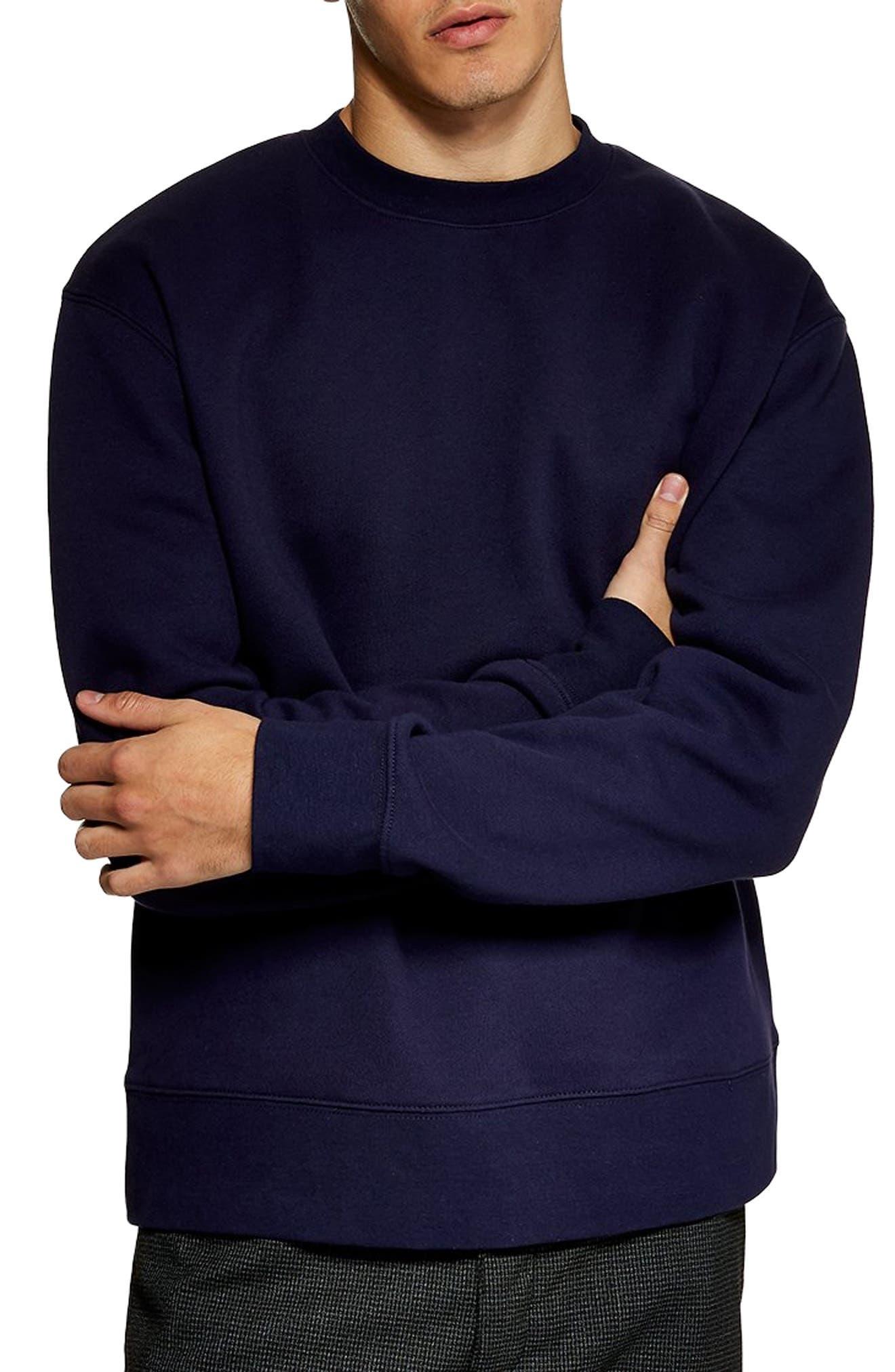 Tristan Sweatshirt,                         Main,                         color, NAVY BLUE