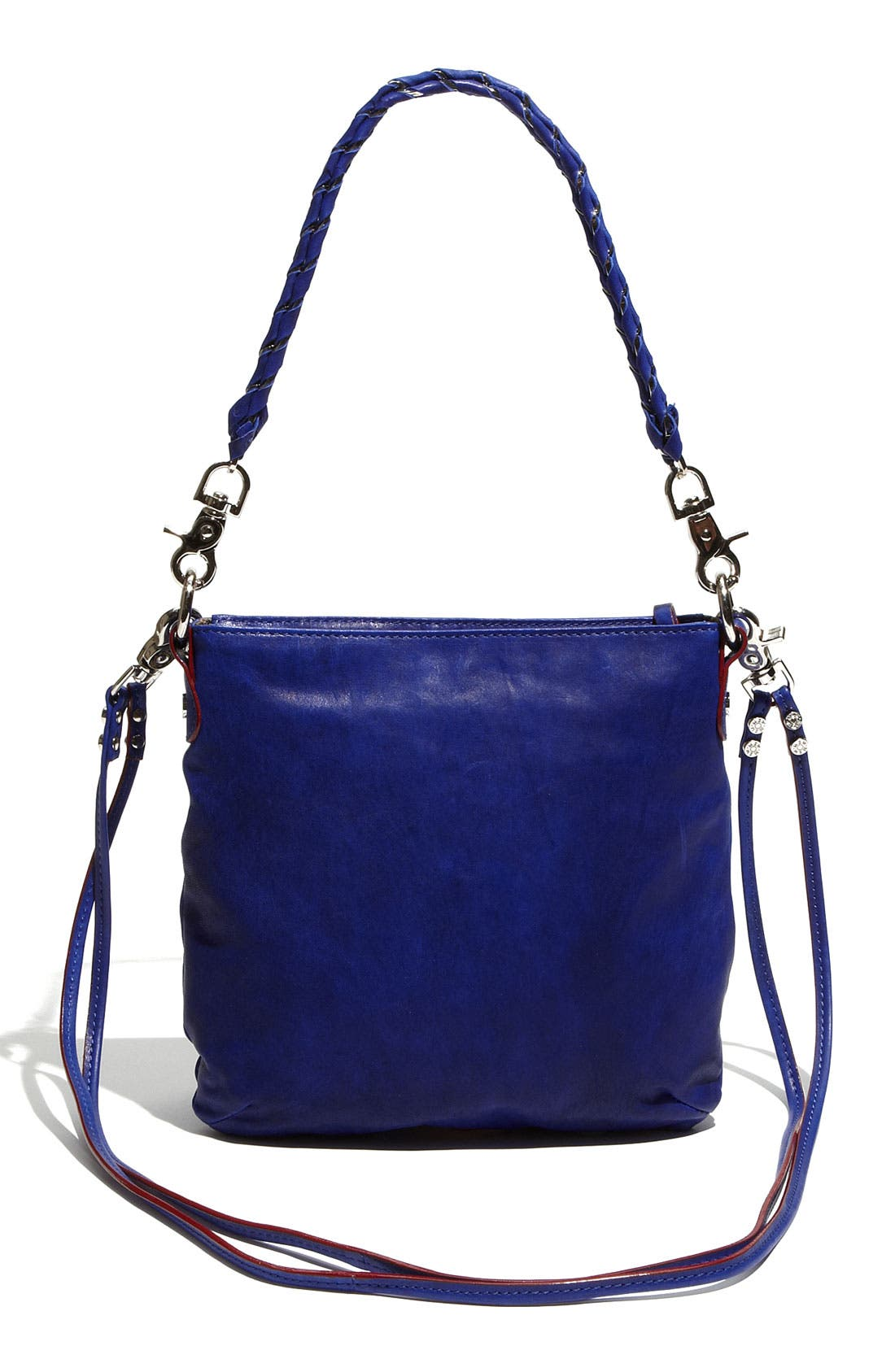 'Sophie' Leather Crossbody Bag,                             Alternate thumbnail 4, color,                             420