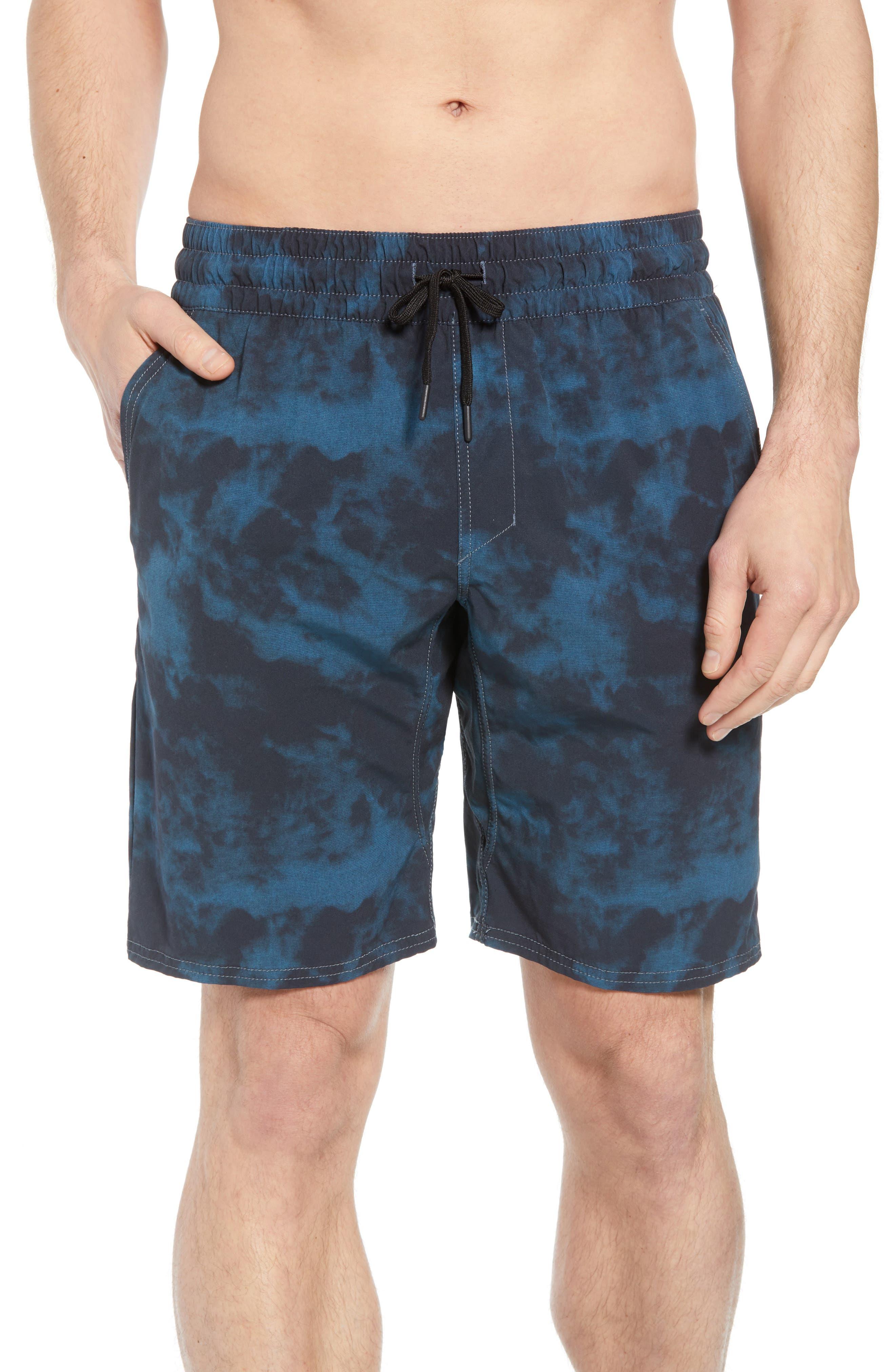 Destination Board Shorts,                         Main,                         color, OCEAN WASH
