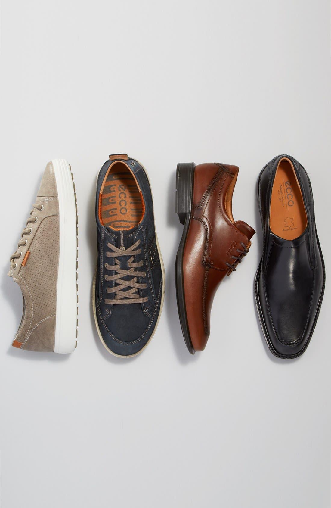 'Soft 7' Sneaker,                             Alternate thumbnail 9, color,                             NAVY LEATHER