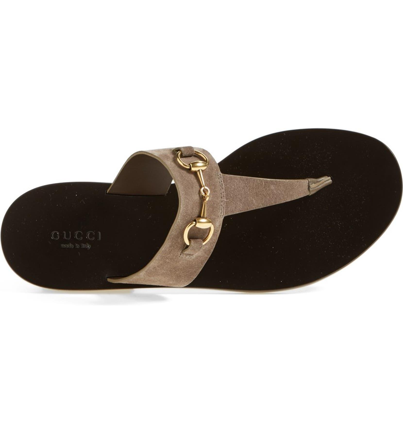 bfa6620bb03cce Gucci  Marcy  Bit Thong Sandal