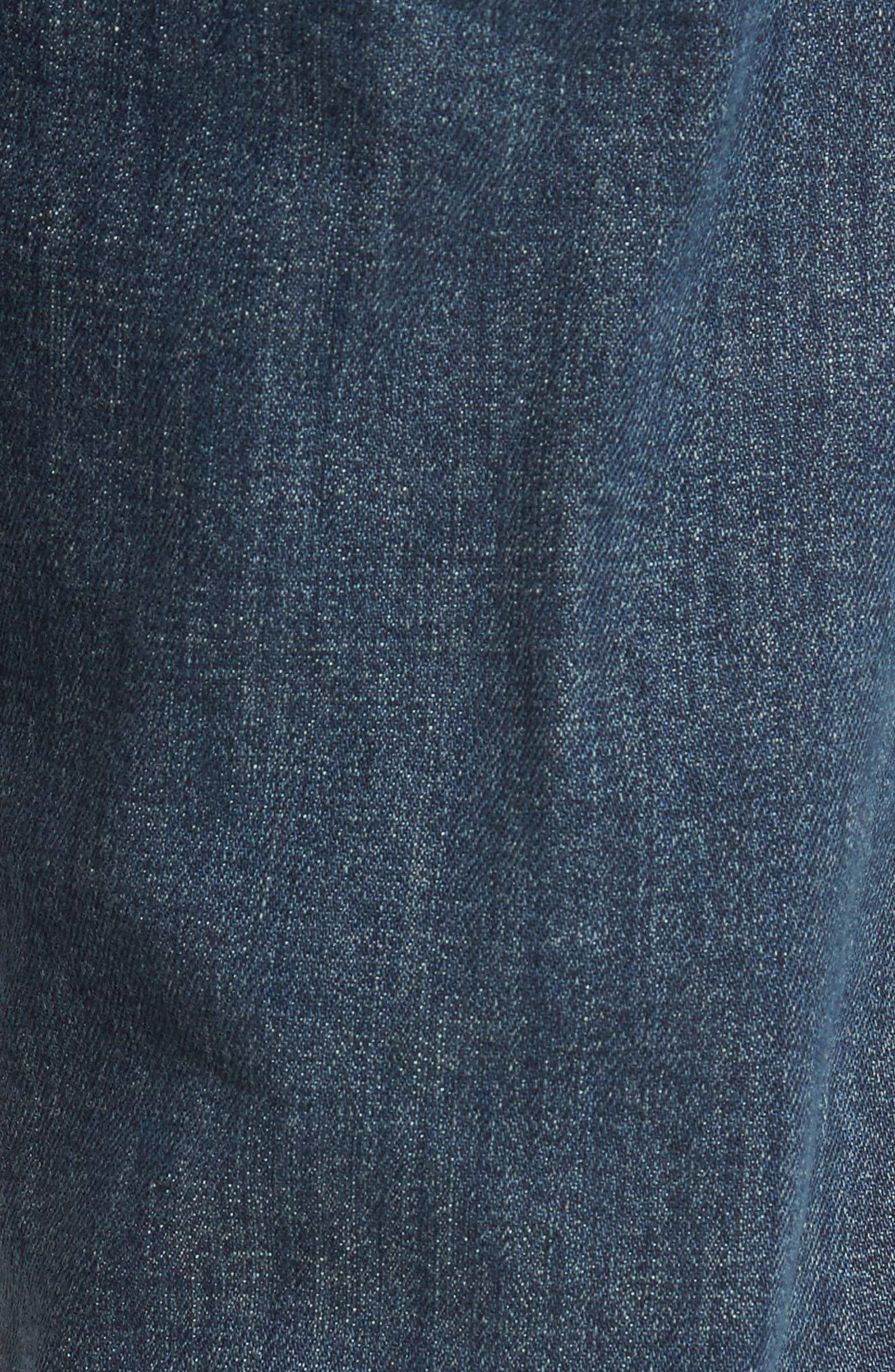 Clark Slim Straight Leg Jeans,                             Alternate thumbnail 5, color,                             400