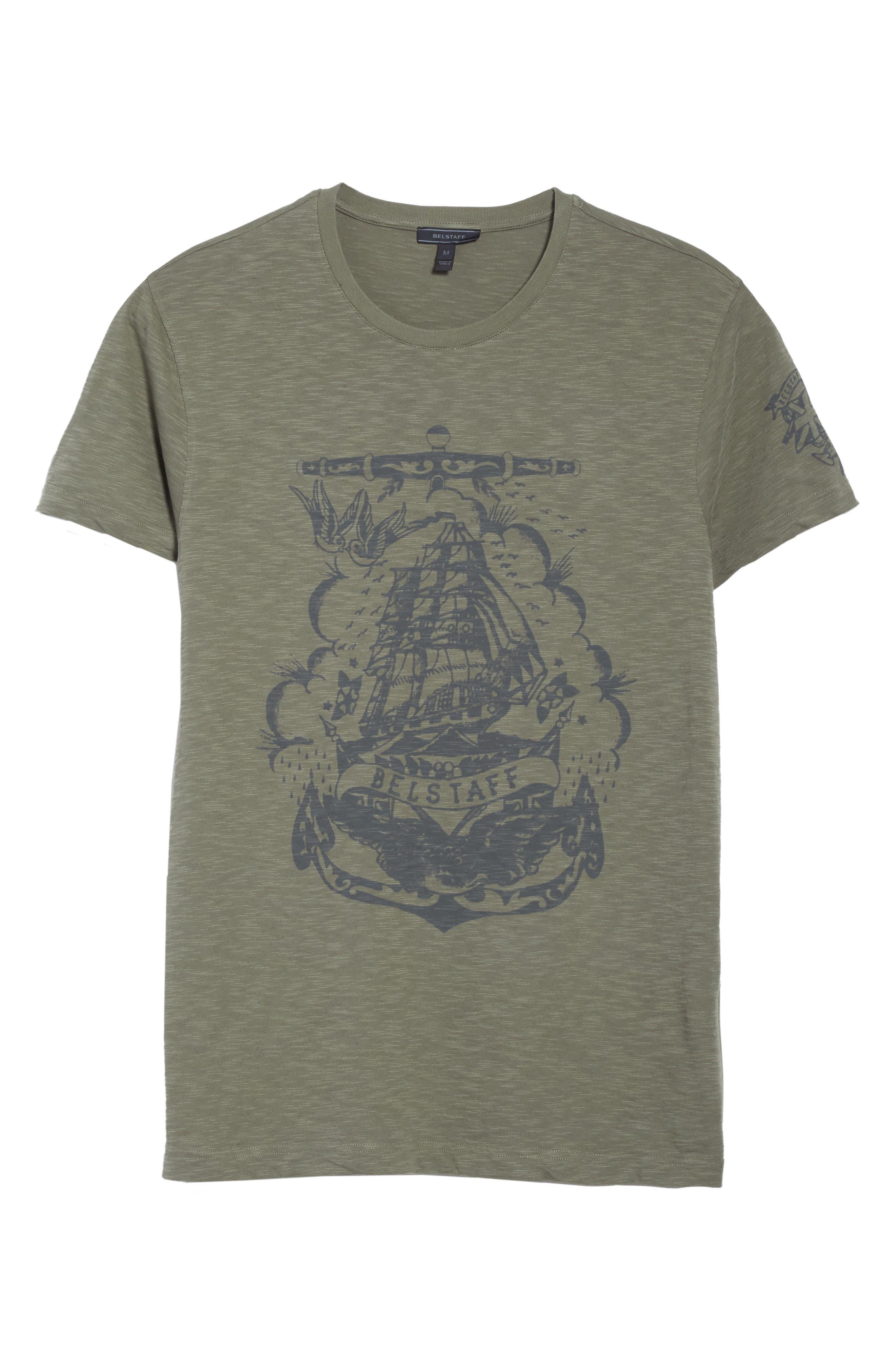 Hunsdon Graphic T-Shirt,                             Alternate thumbnail 6, color,                             332