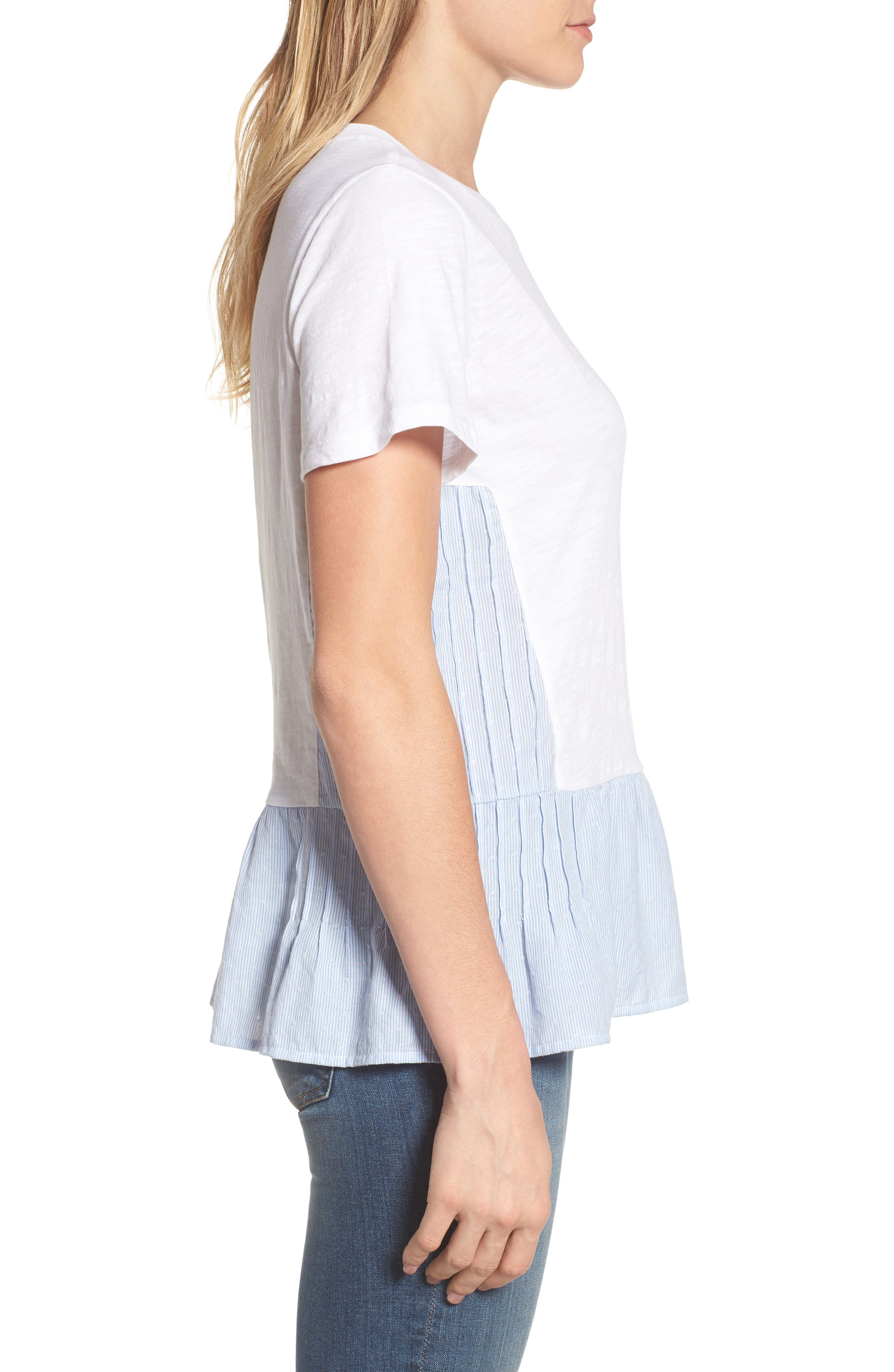 Layered Look Tee,                             Alternate thumbnail 6, color,
