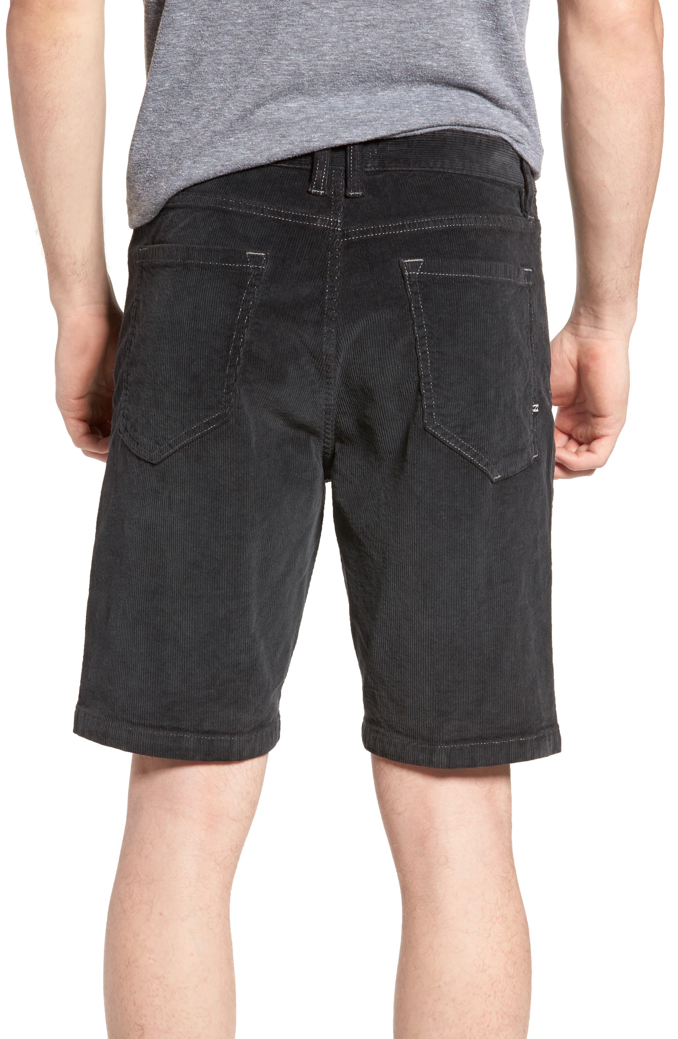 Outsider Corduroy Shorts,                             Alternate thumbnail 2, color,                             010