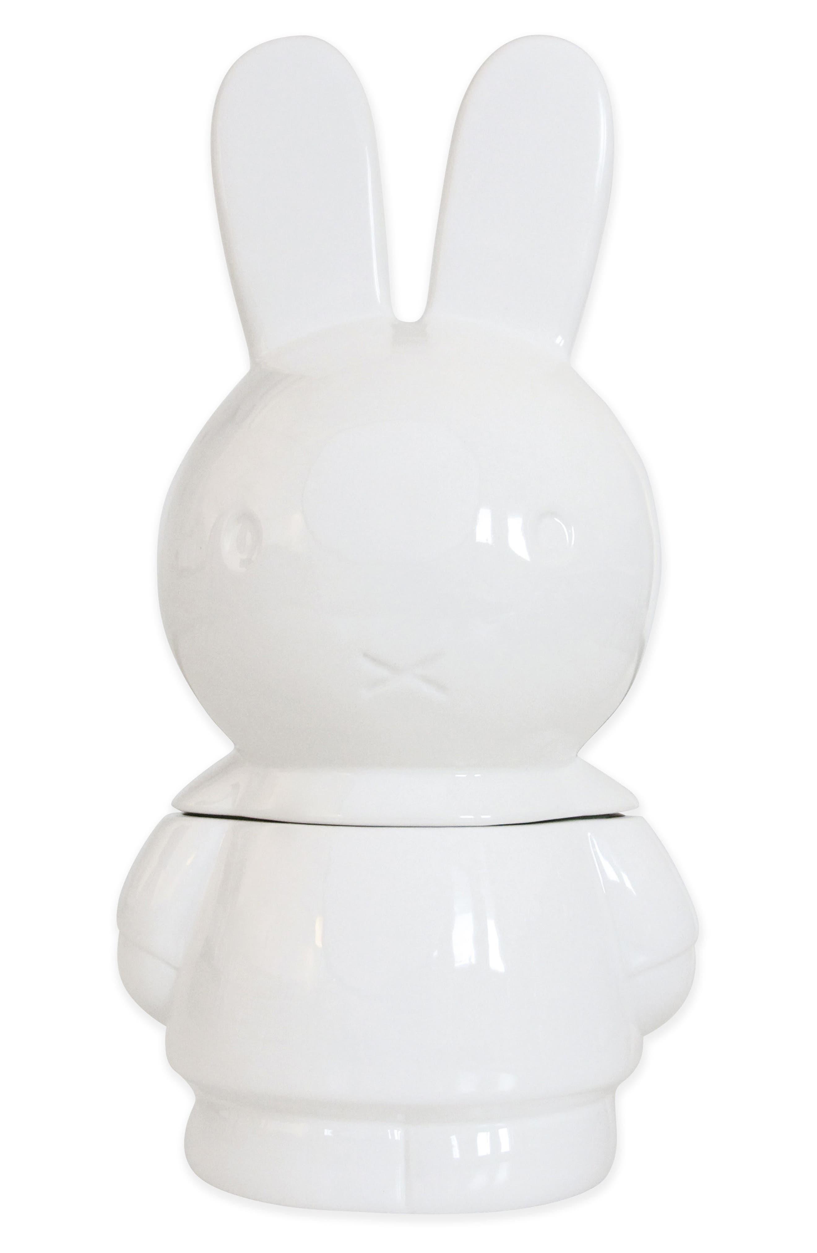 Miffy Ceramic Cookie Jar,                             Alternate thumbnail 2, color,                             100