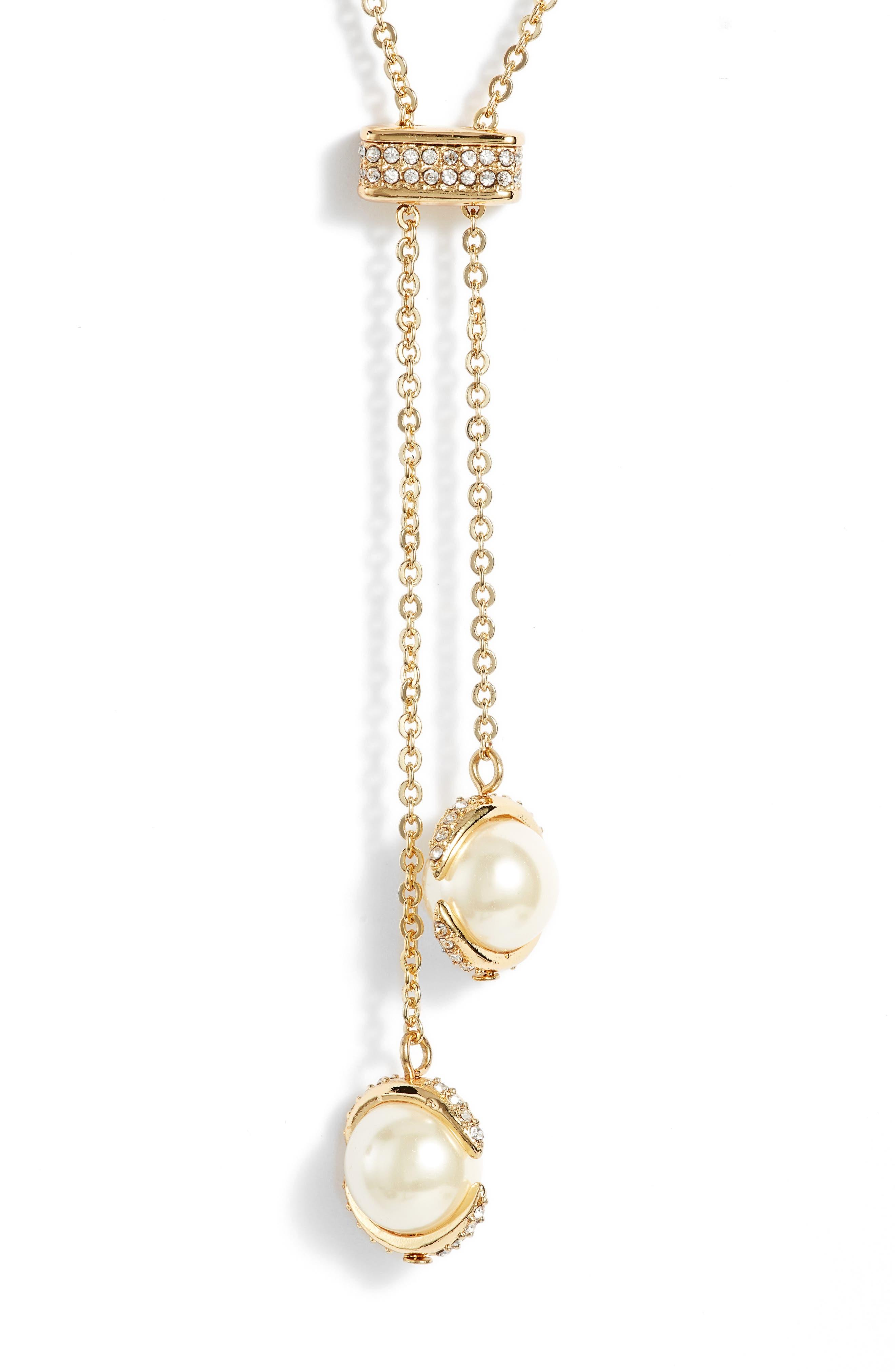 Crystal Slider Y-Necklace,                         Main,                         color, 710