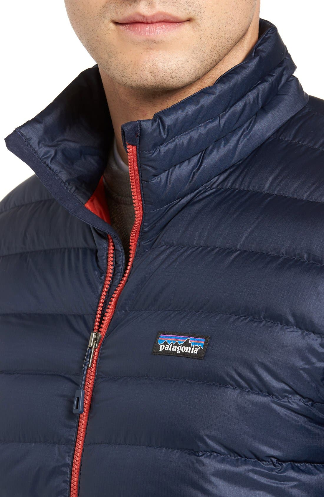 Water Repellent Down Jacket,                             Alternate thumbnail 76, color,