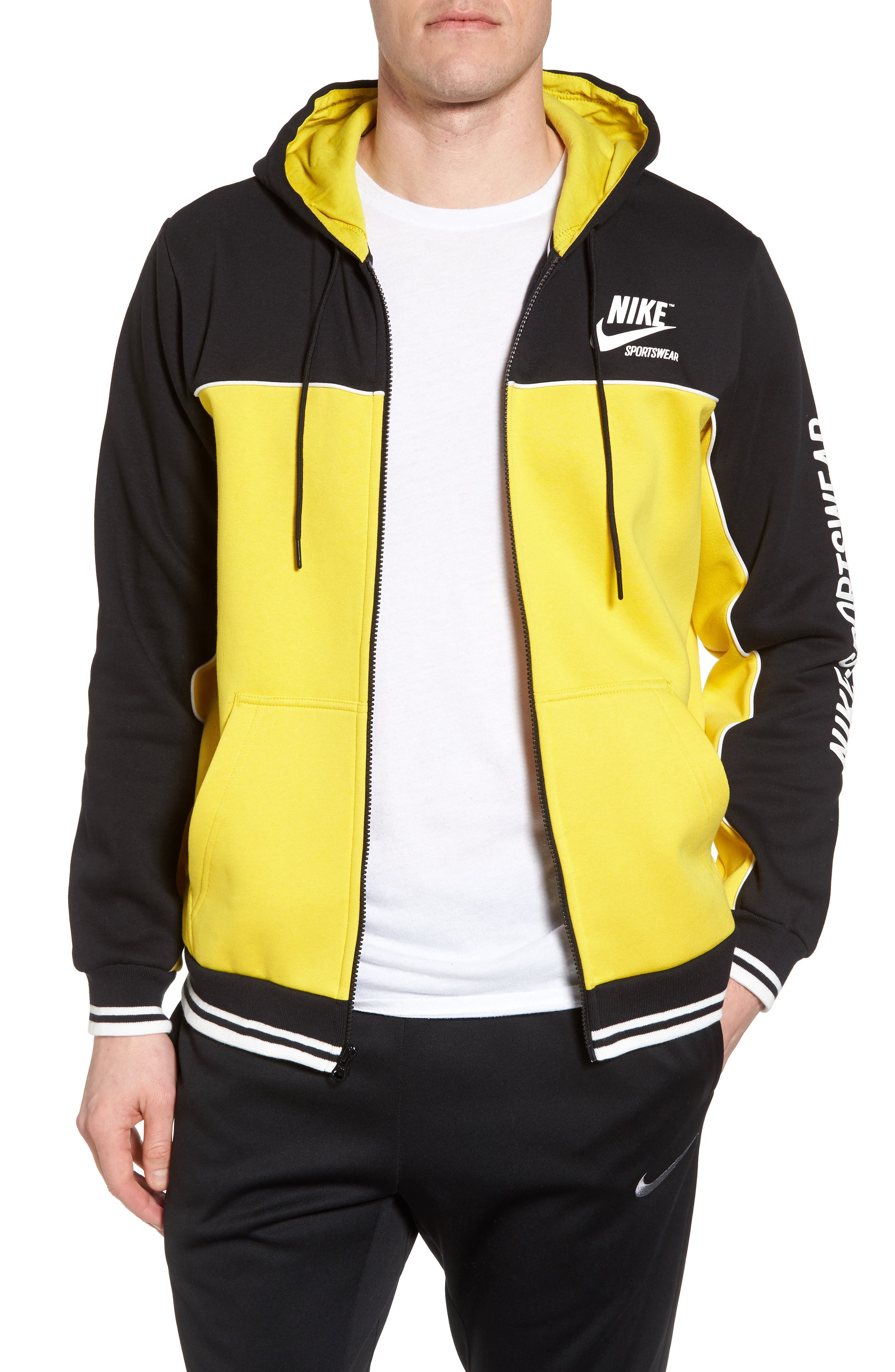NSW Archive Zip Hoodie,                             Main thumbnail 1, color,