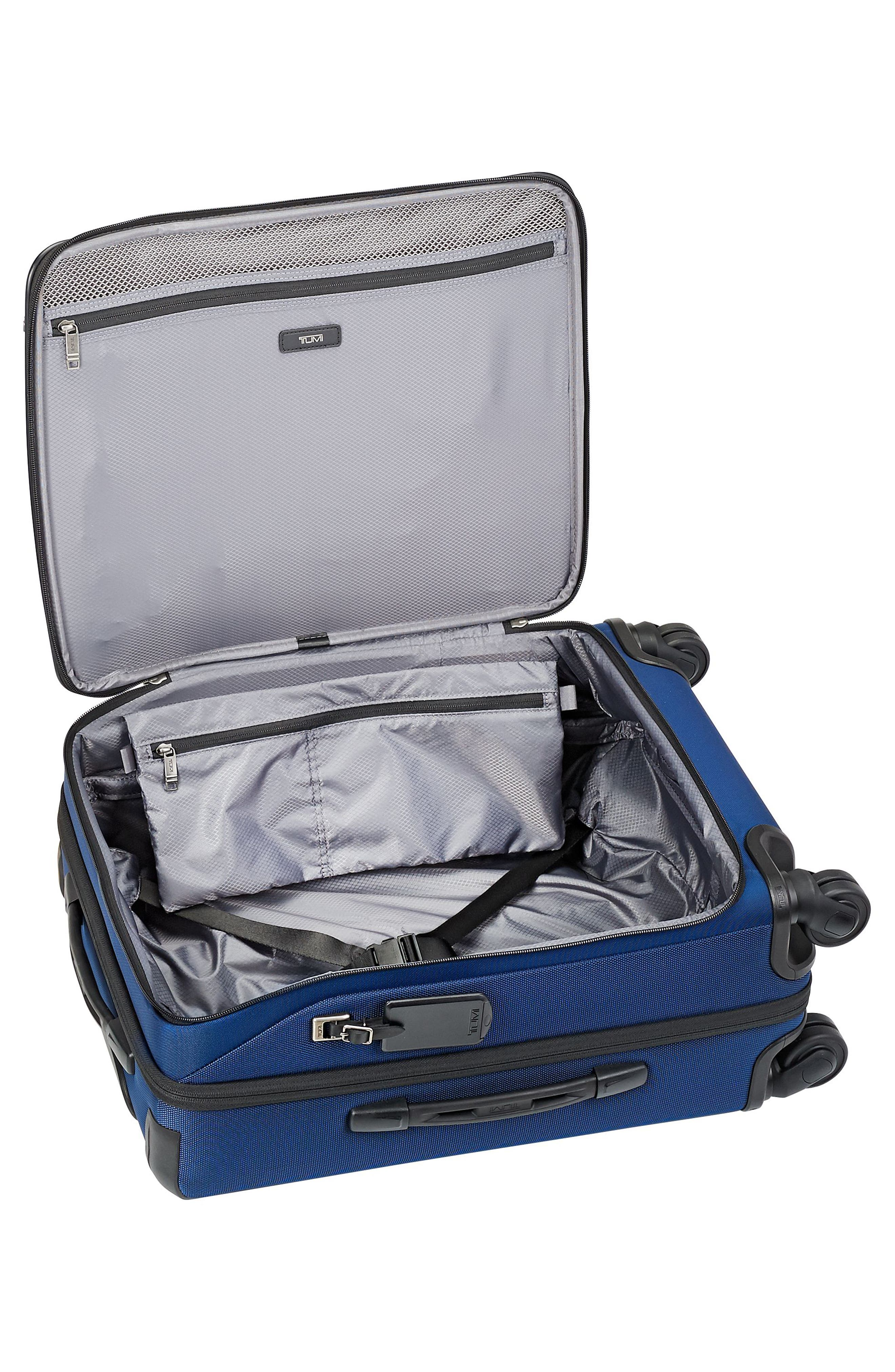 Merge - 22-Inch Continental Expandable Rolling Carry-On,                             Alternate thumbnail 2, color,                             OCEAN BLUE