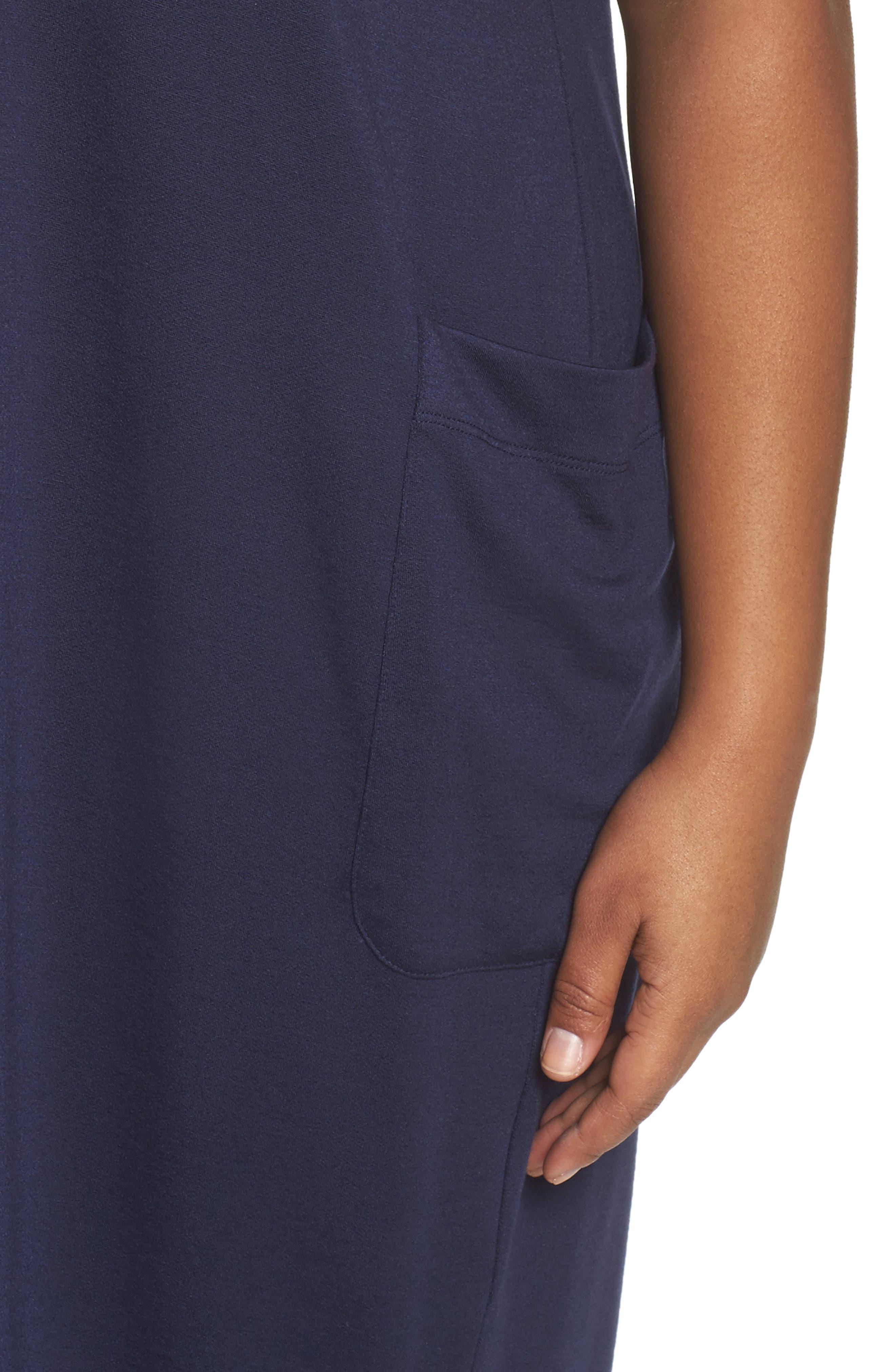 Stretch Tencel<sup>®</sup> Knit Jumper Dress,                             Alternate thumbnail 12, color,