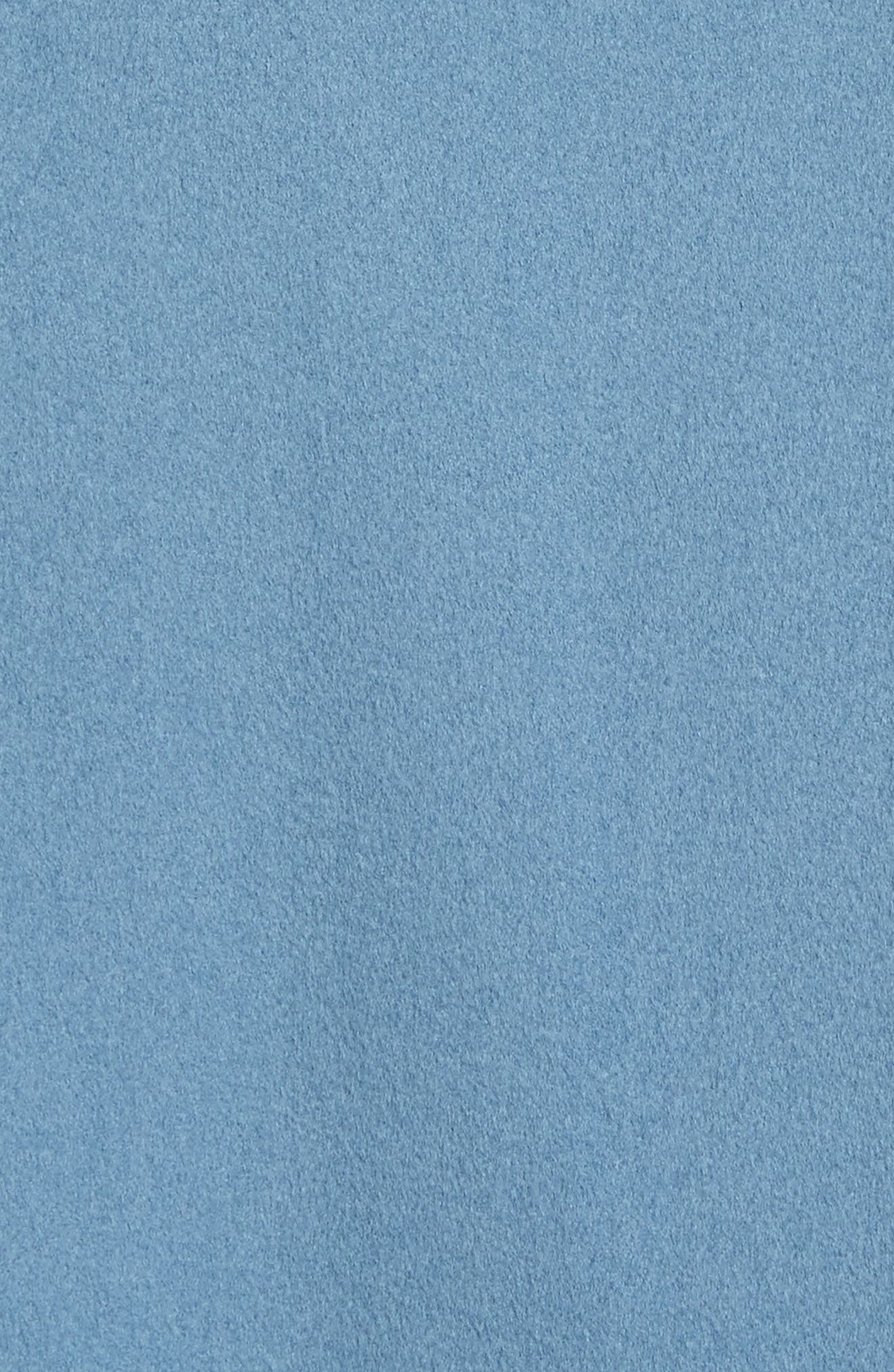 Single Button Wool Coat,                             Alternate thumbnail 6, color,                             425