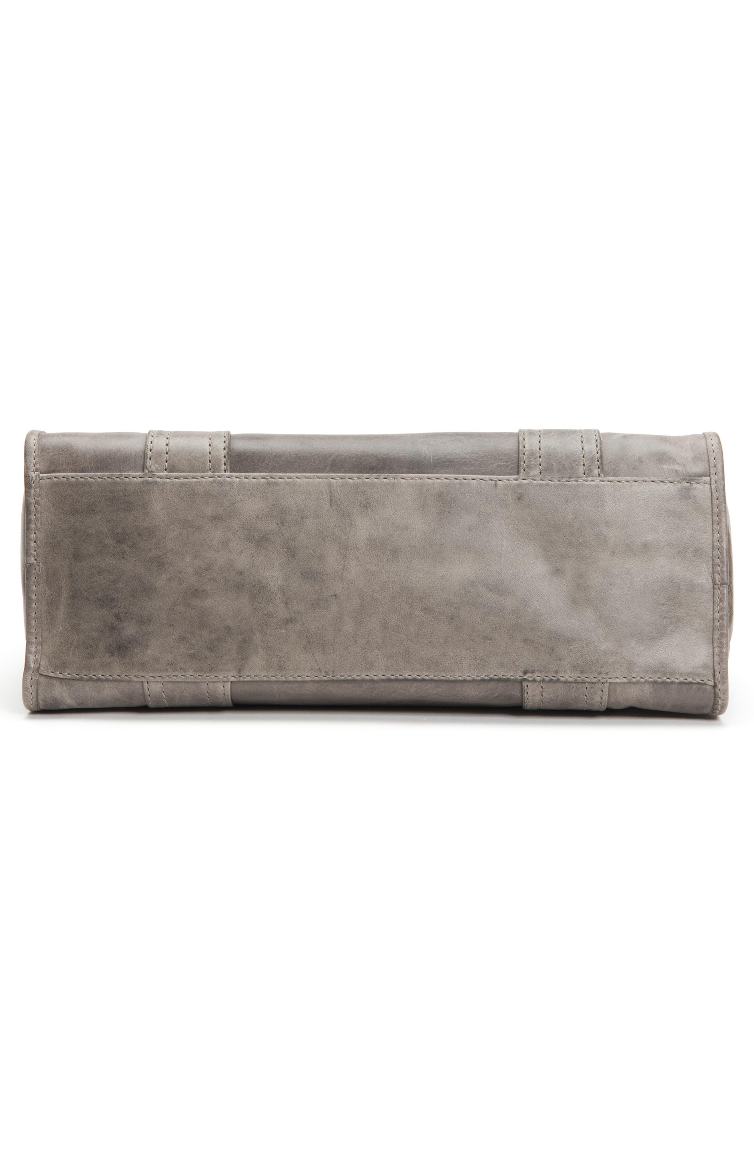FRYE,                             'Melissa' Washed Leather Satchel,                             Alternate thumbnail 7, color,                             ICE