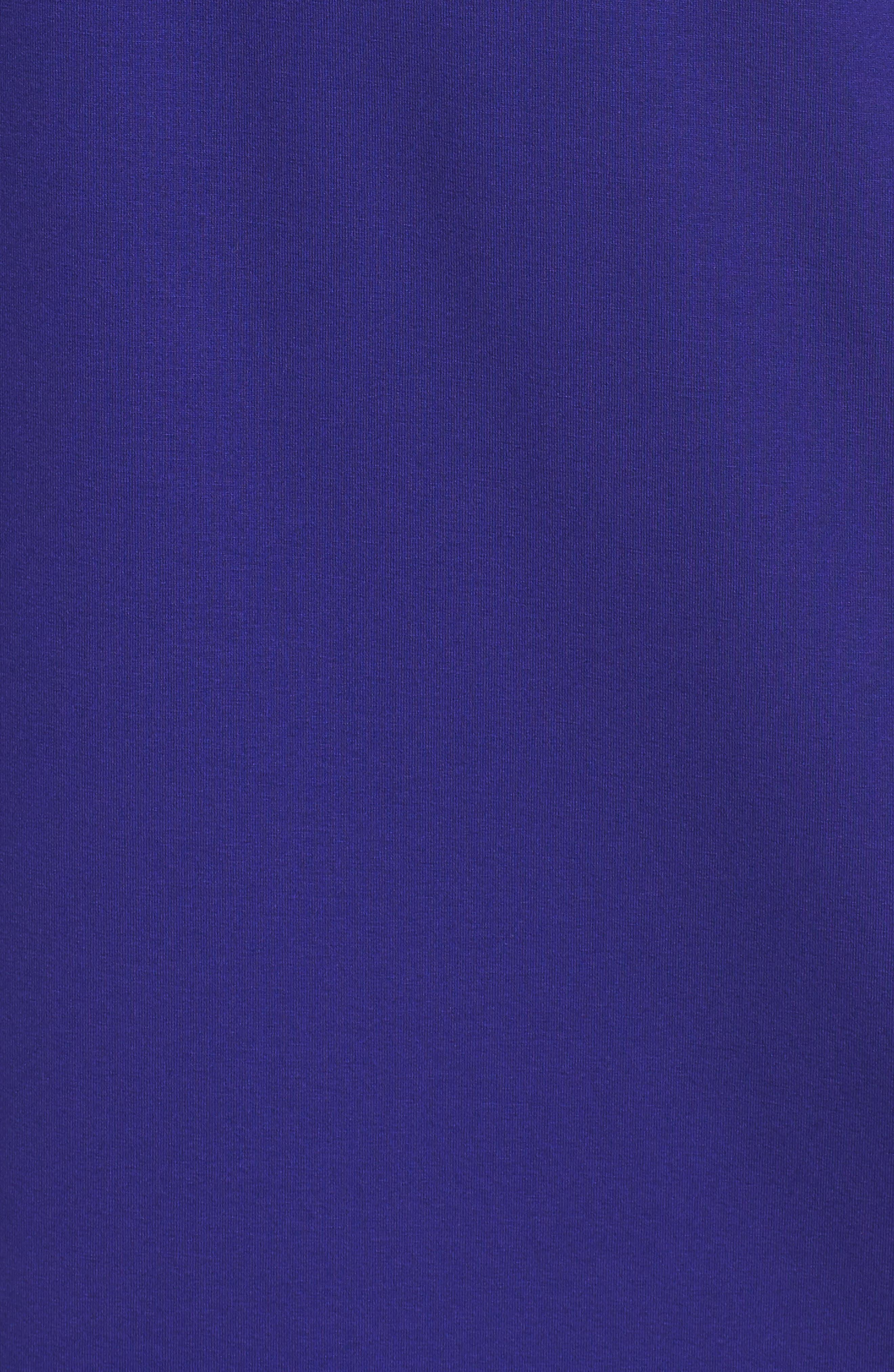 V-Neck Stretch Jersey Shift Dress,                             Alternate thumbnail 24, color,