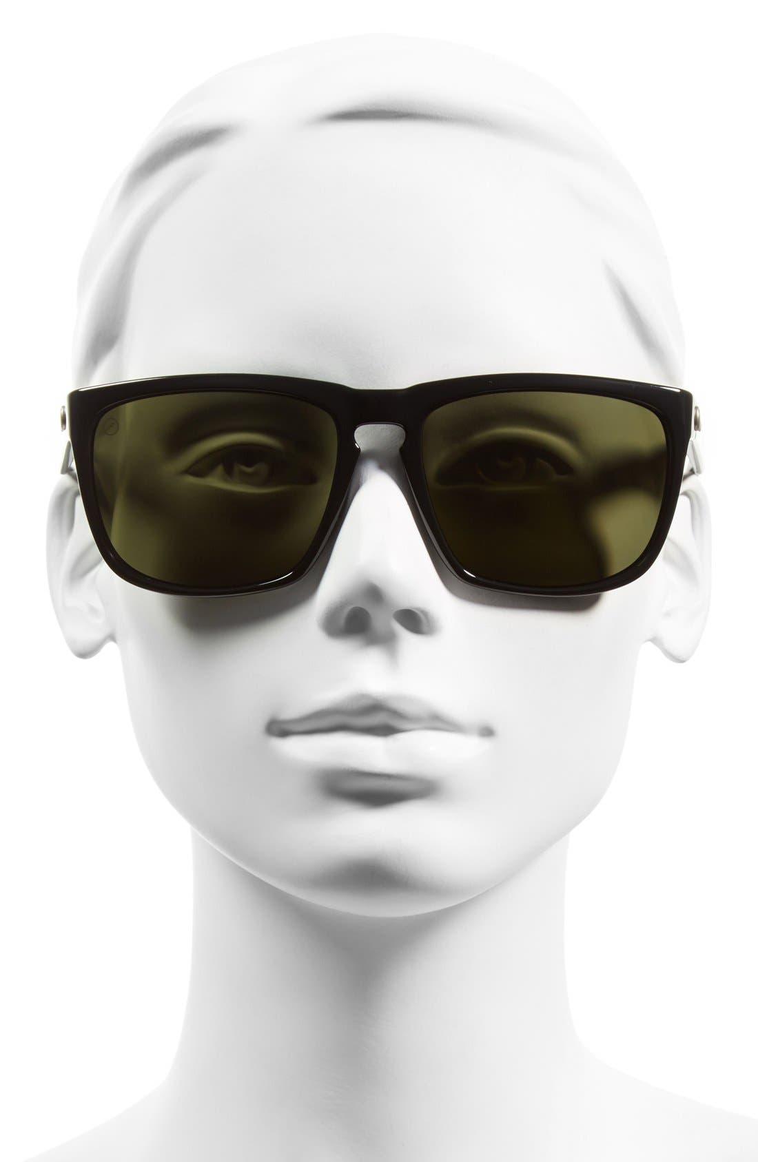 'Knoxville XL' 61mm Polarized Sunglasses,                             Alternate thumbnail 2, color,                             002