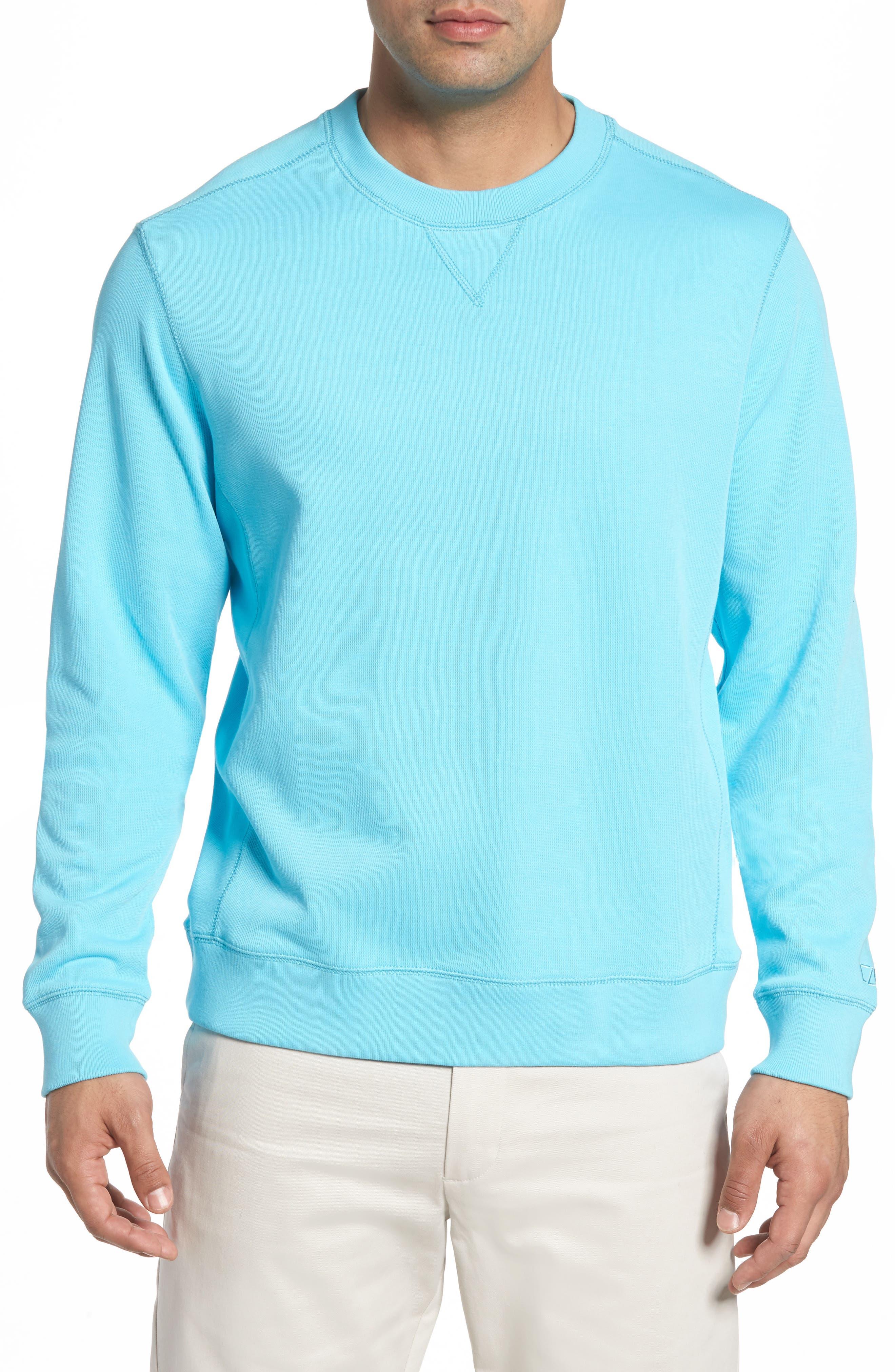 Bayview Crewneck Sweatshirt,                         Main,                         color, ARUBA