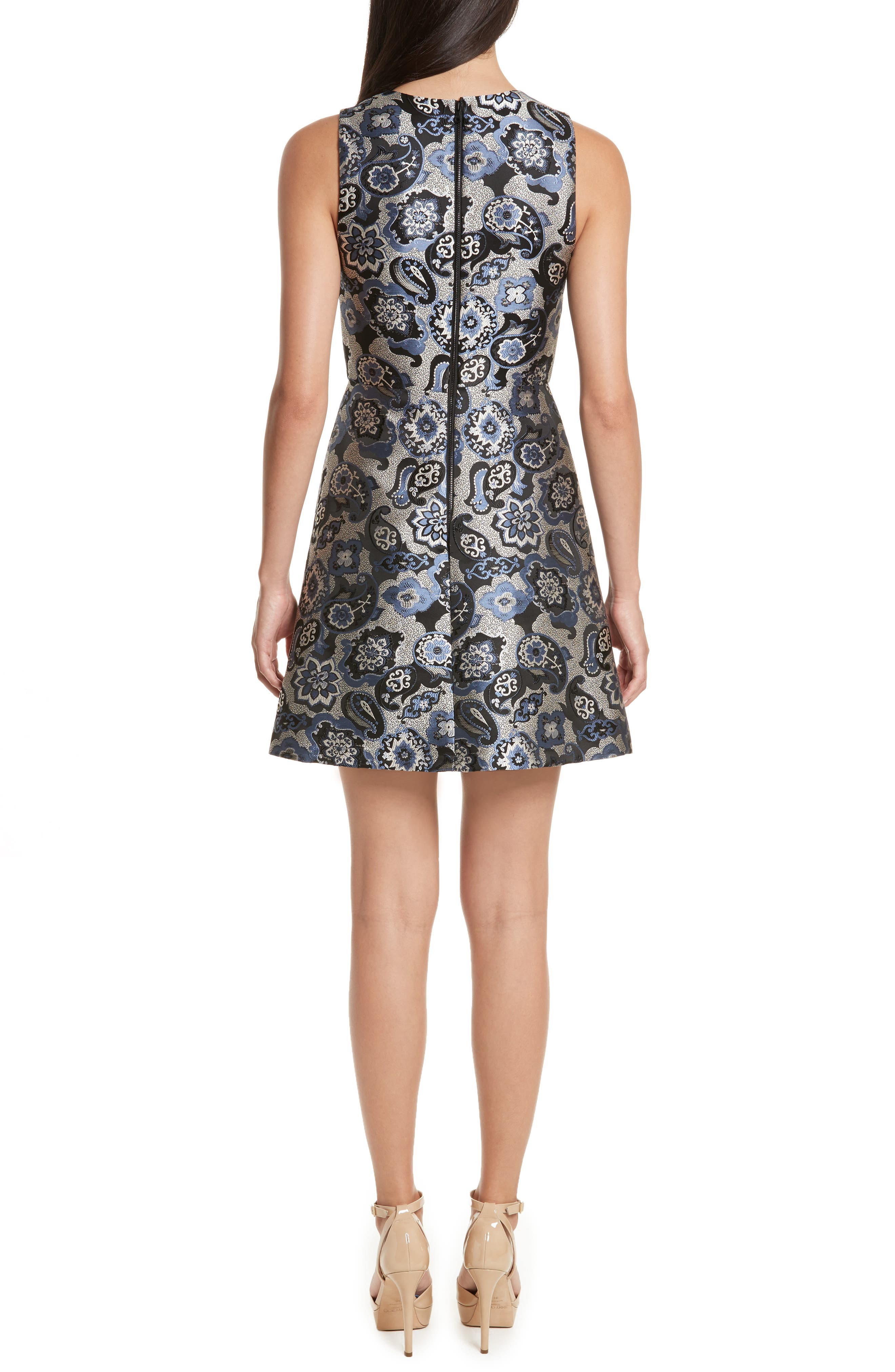 Malin V-Neck Dress,                             Alternate thumbnail 2, color,                             499