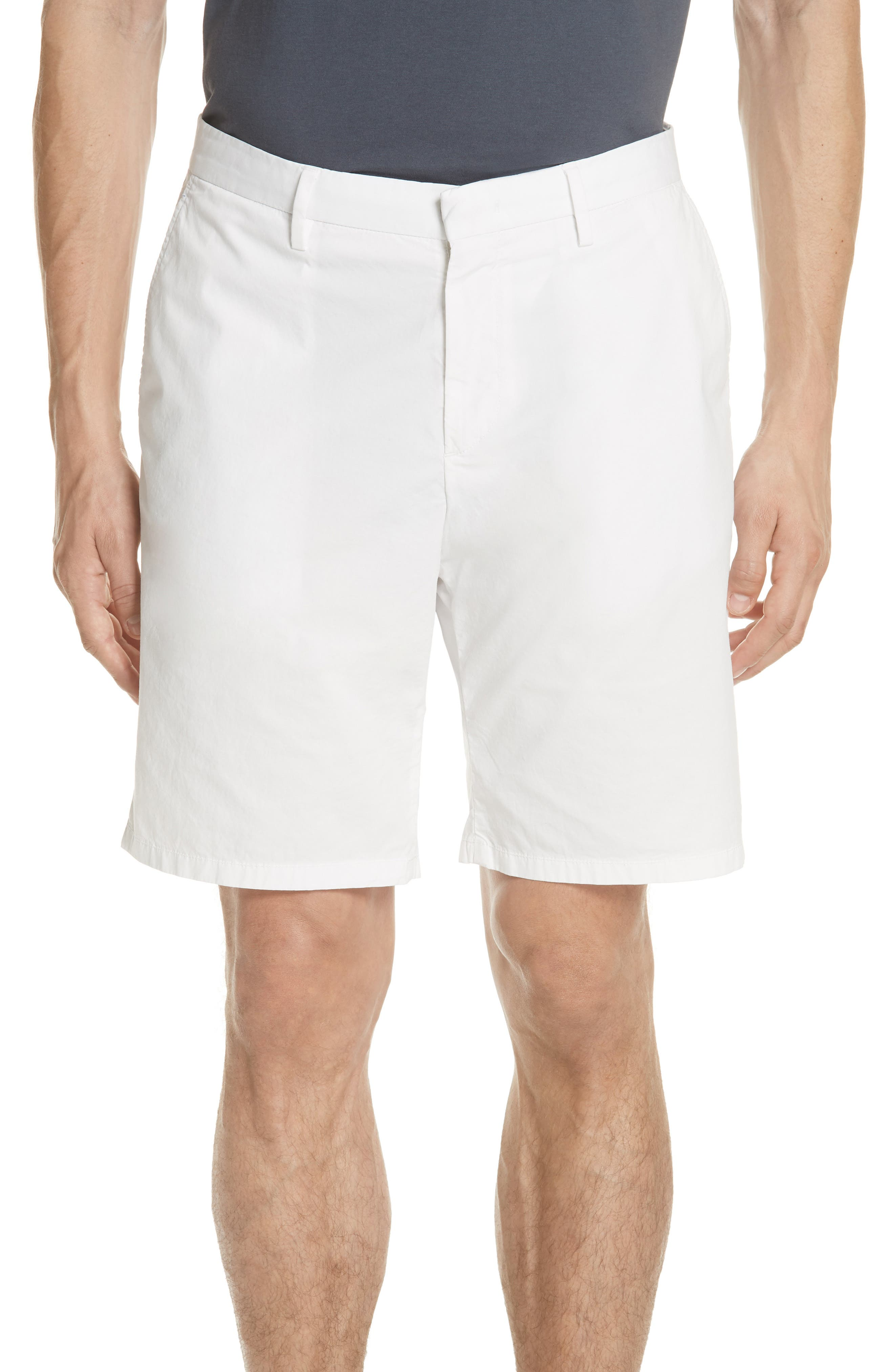 Poplin Chino Shorts,                         Main,                         color, CANVAS