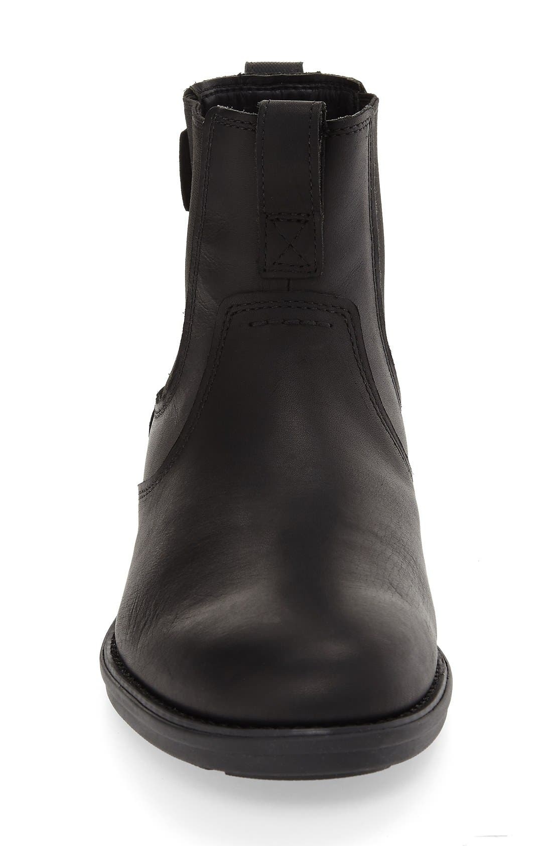 TIMBERLAND,                             'Carter' Chelsea Boot,                             Alternate thumbnail 3, color,                             001