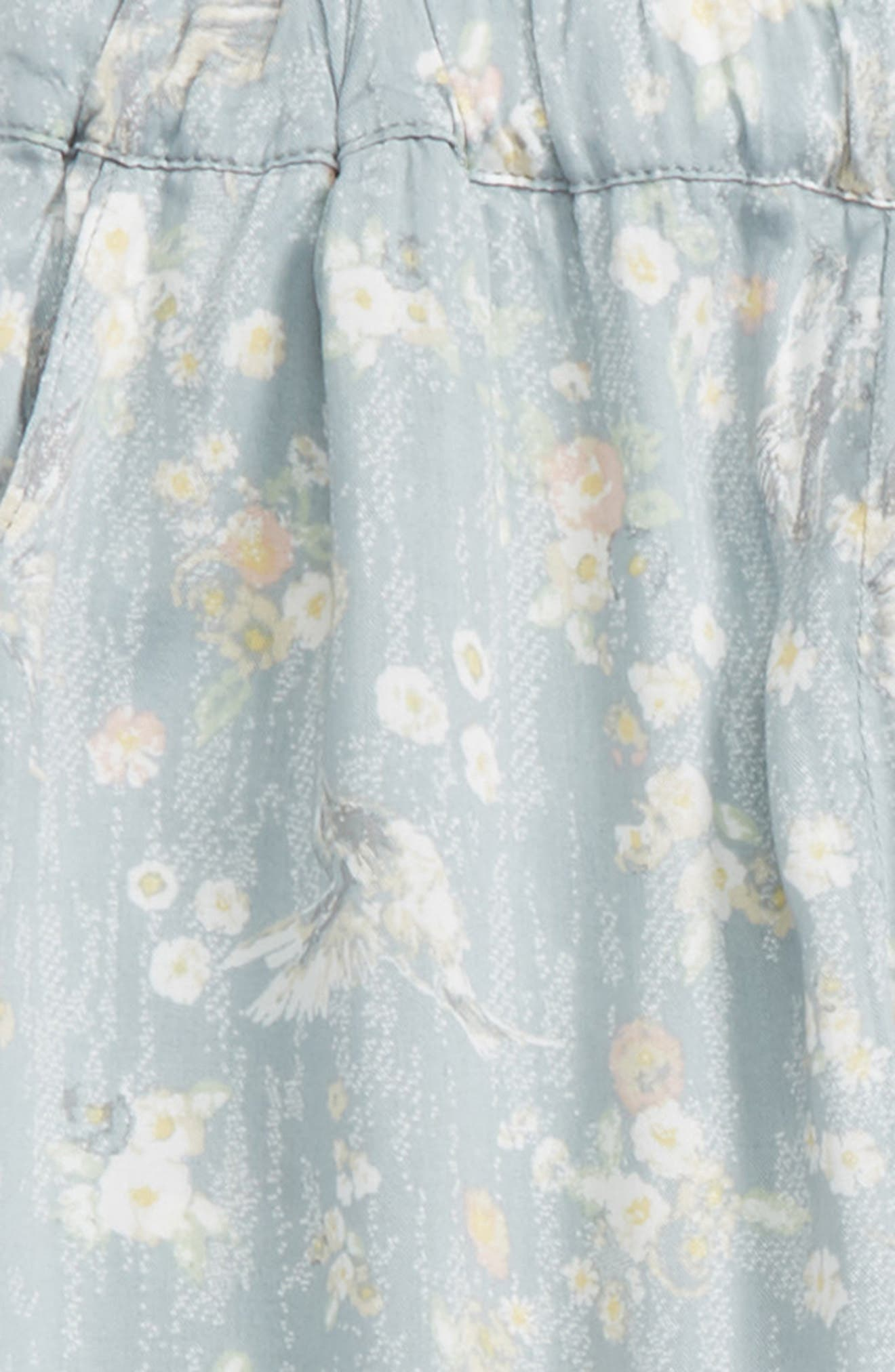 Sonia Floral Print Pants,                             Alternate thumbnail 2, color,