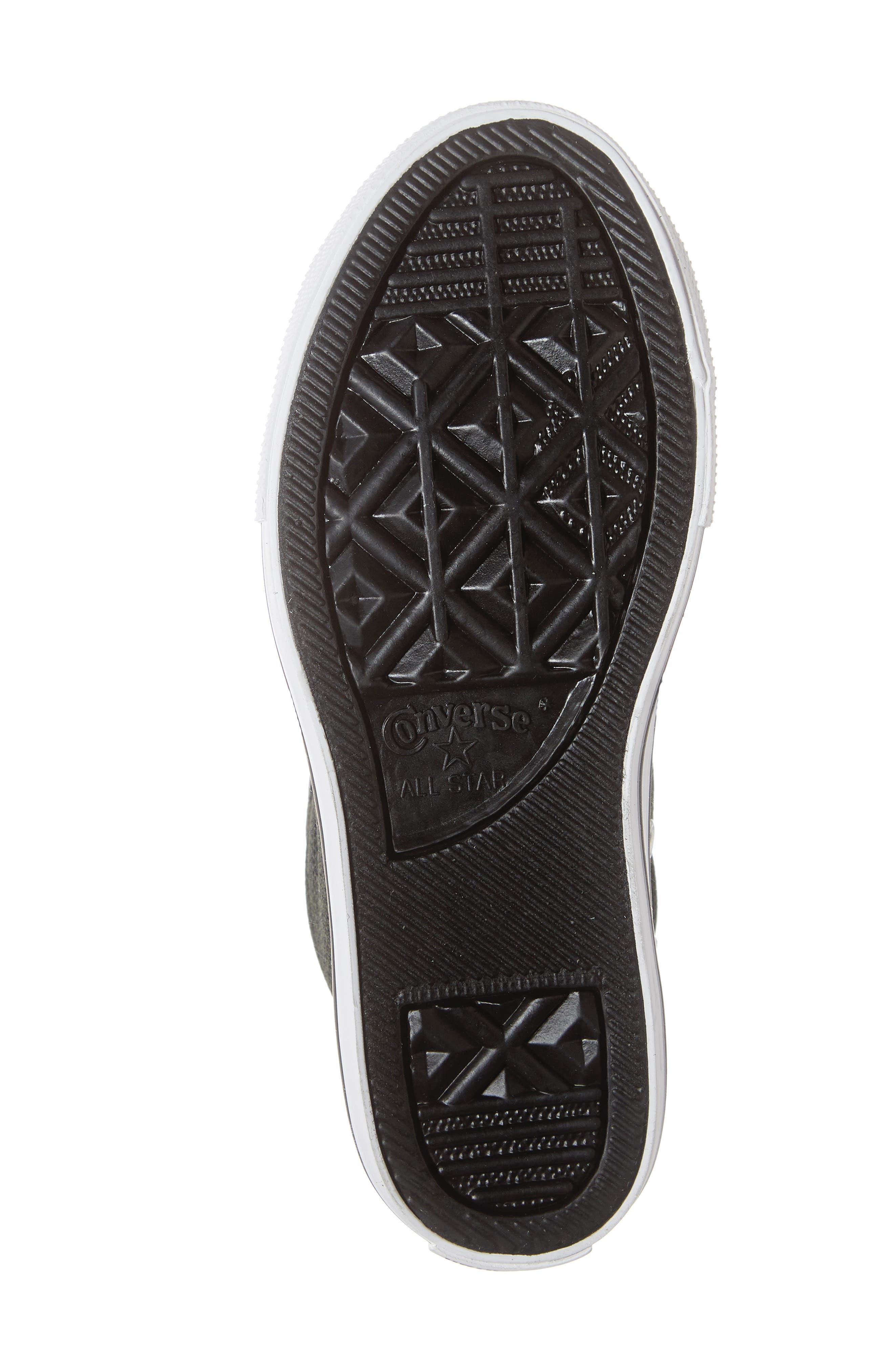 Varsity Street Mid Rise Slip-On Sneaker,                             Alternate thumbnail 6, color,                             GREEN