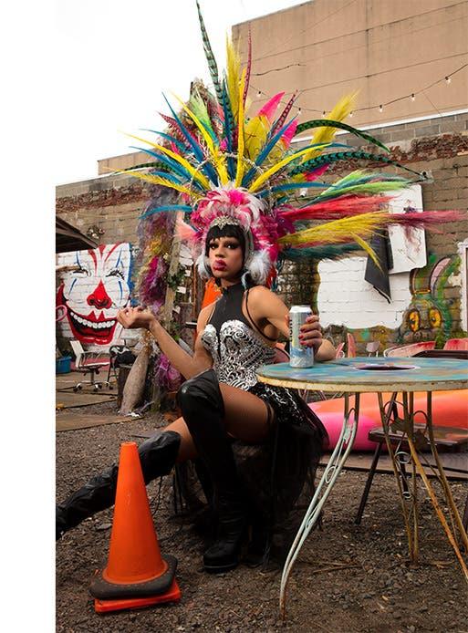 Yvie Oddly, RuPaul's Drag Race Season 11 winner.