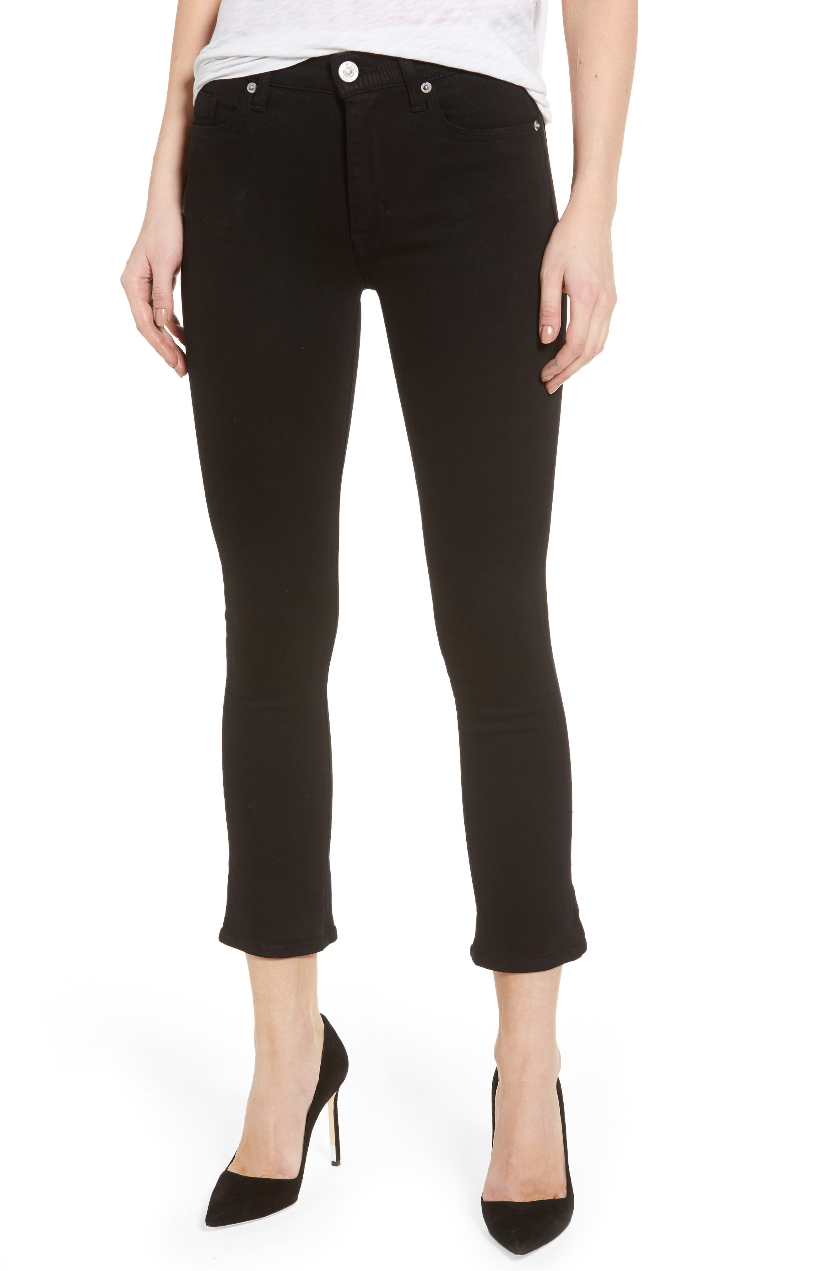 Harper High Rise Crop Jeans,                         Main,                         color, 001