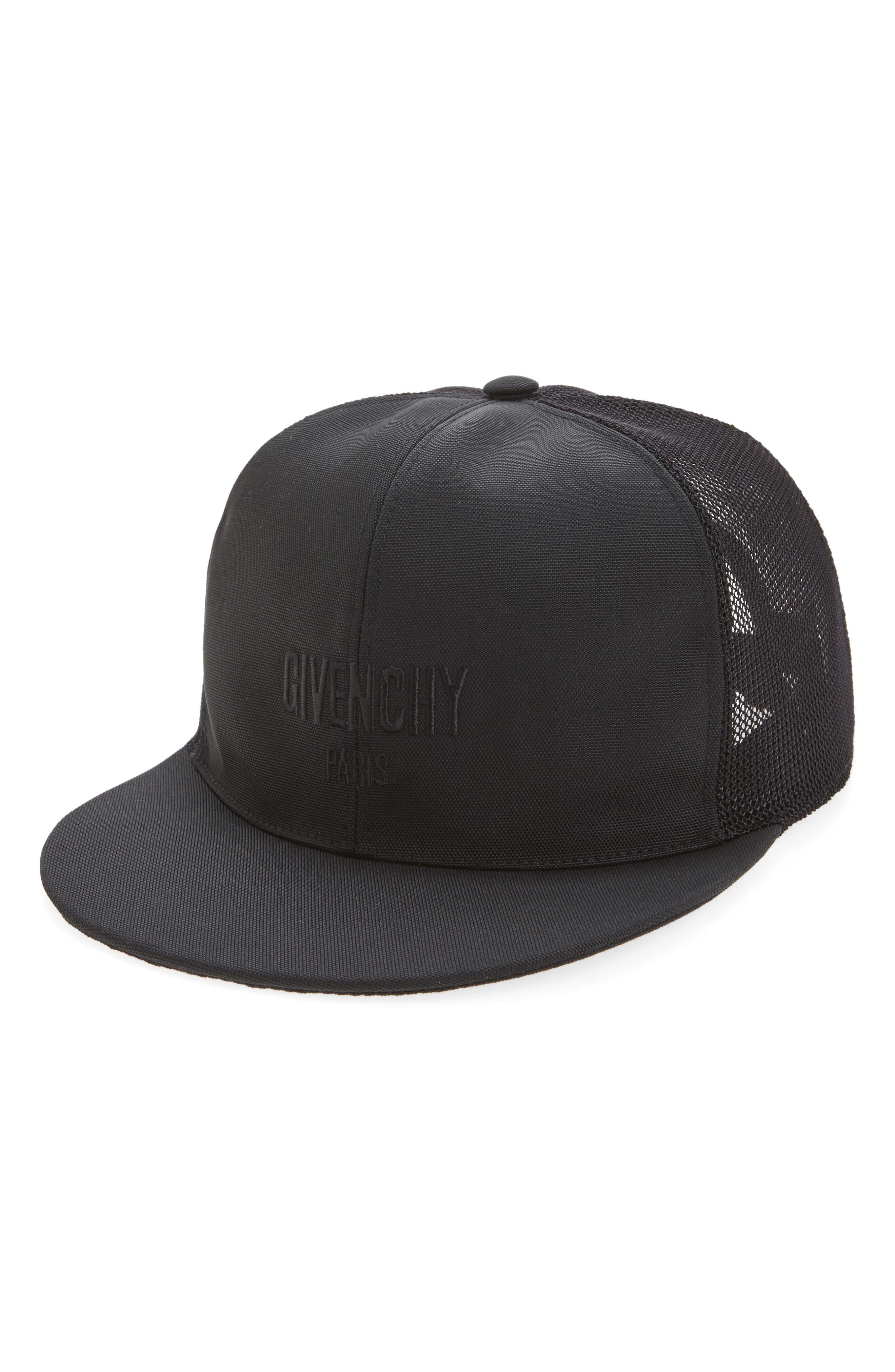 Stars Mesh & Canvas Baseball Cap,                         Main,                         color, 001