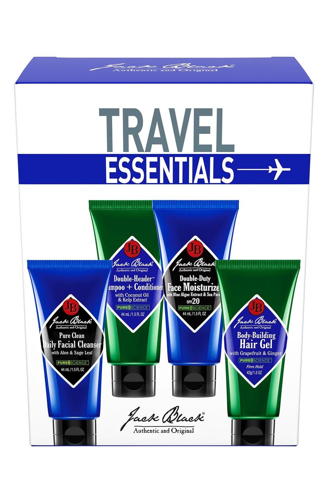 Travel Essentials Set,                             Alternate thumbnail 2, color,                             000
