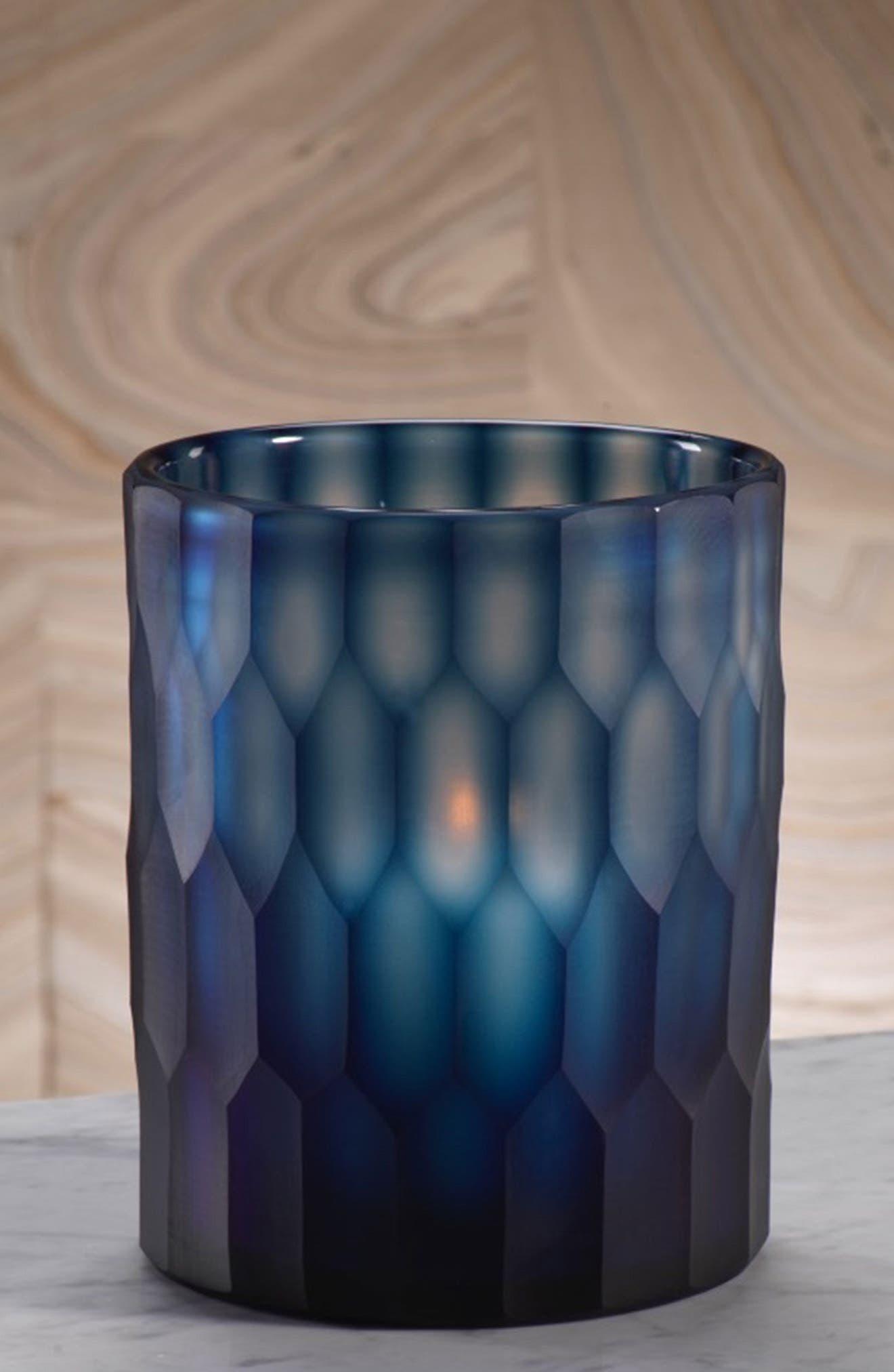 Neela Glass Candleholder,                             Alternate thumbnail 2, color,                             400
