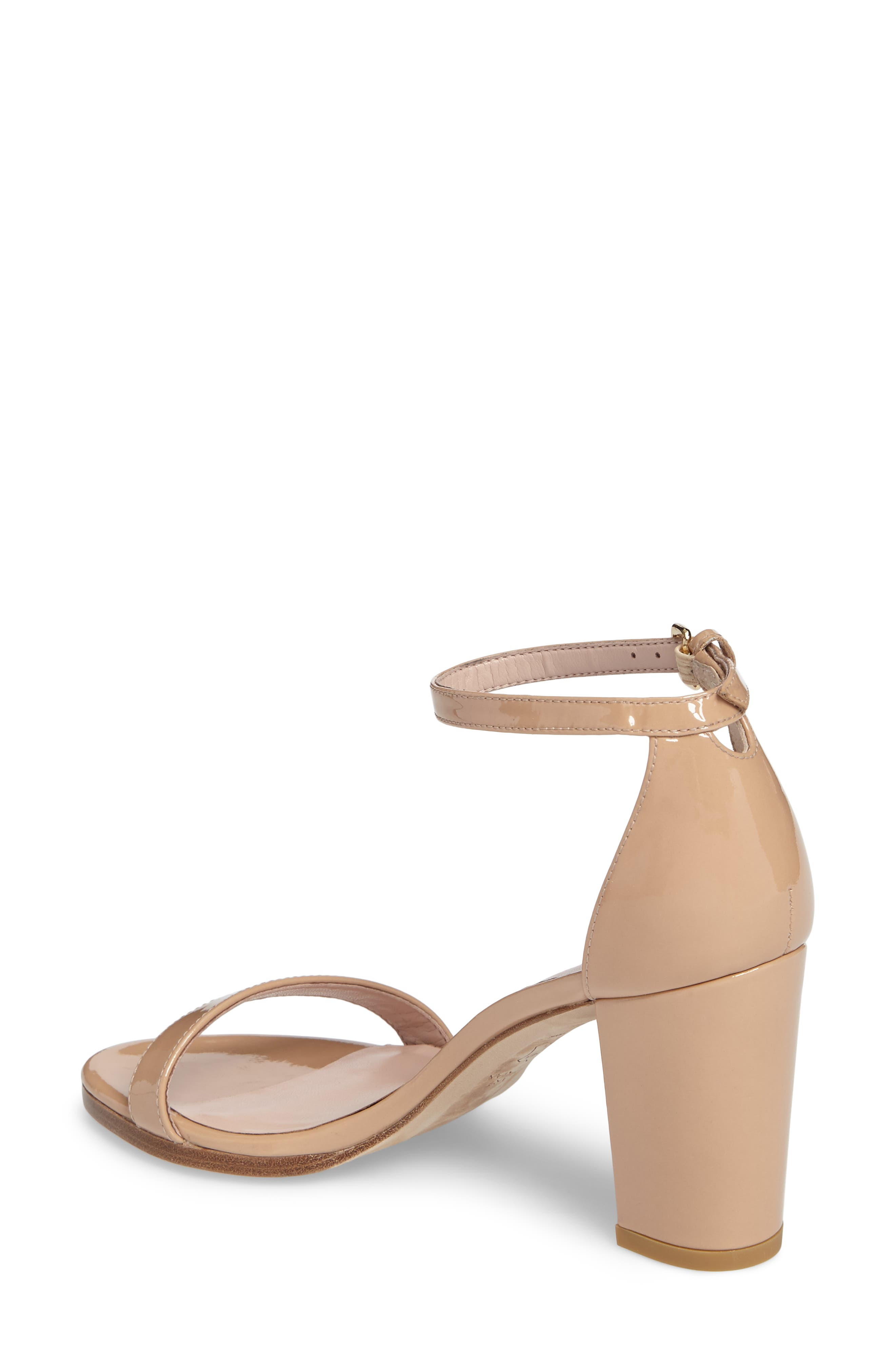 NearlyNude Ankle Strap Sandal,                             Alternate thumbnail 2, color,                             ADOBE ANILINE