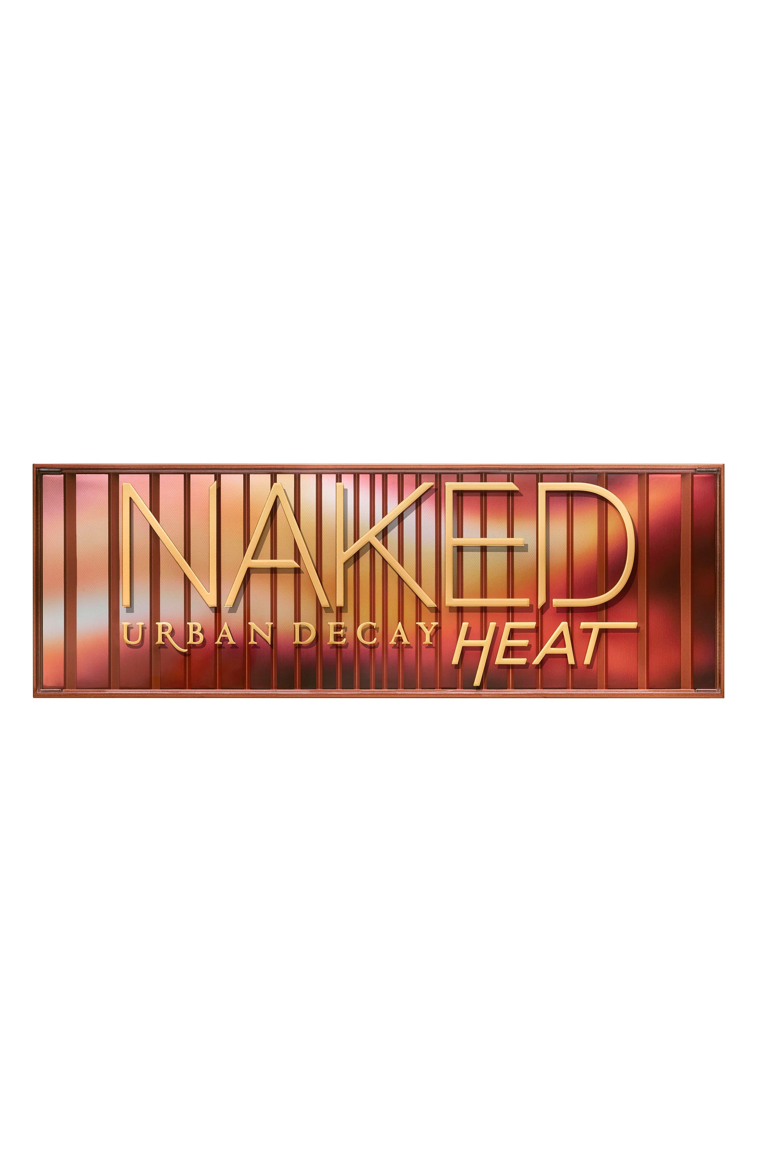 Naked Heat Palette,                             Alternate thumbnail 3, color,                             ORANGE