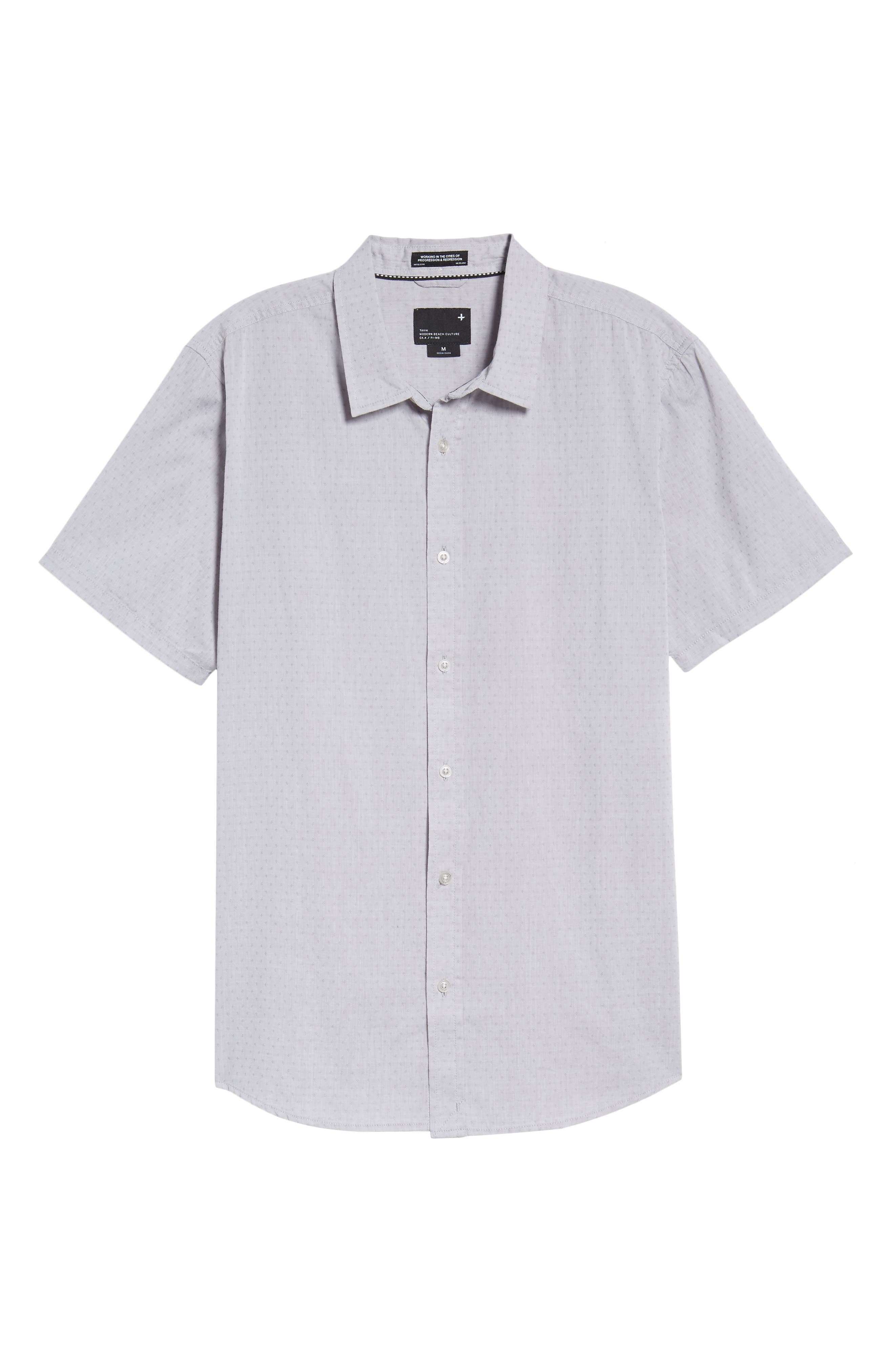 Clarke Woven Shirt,                             Alternate thumbnail 9, color,