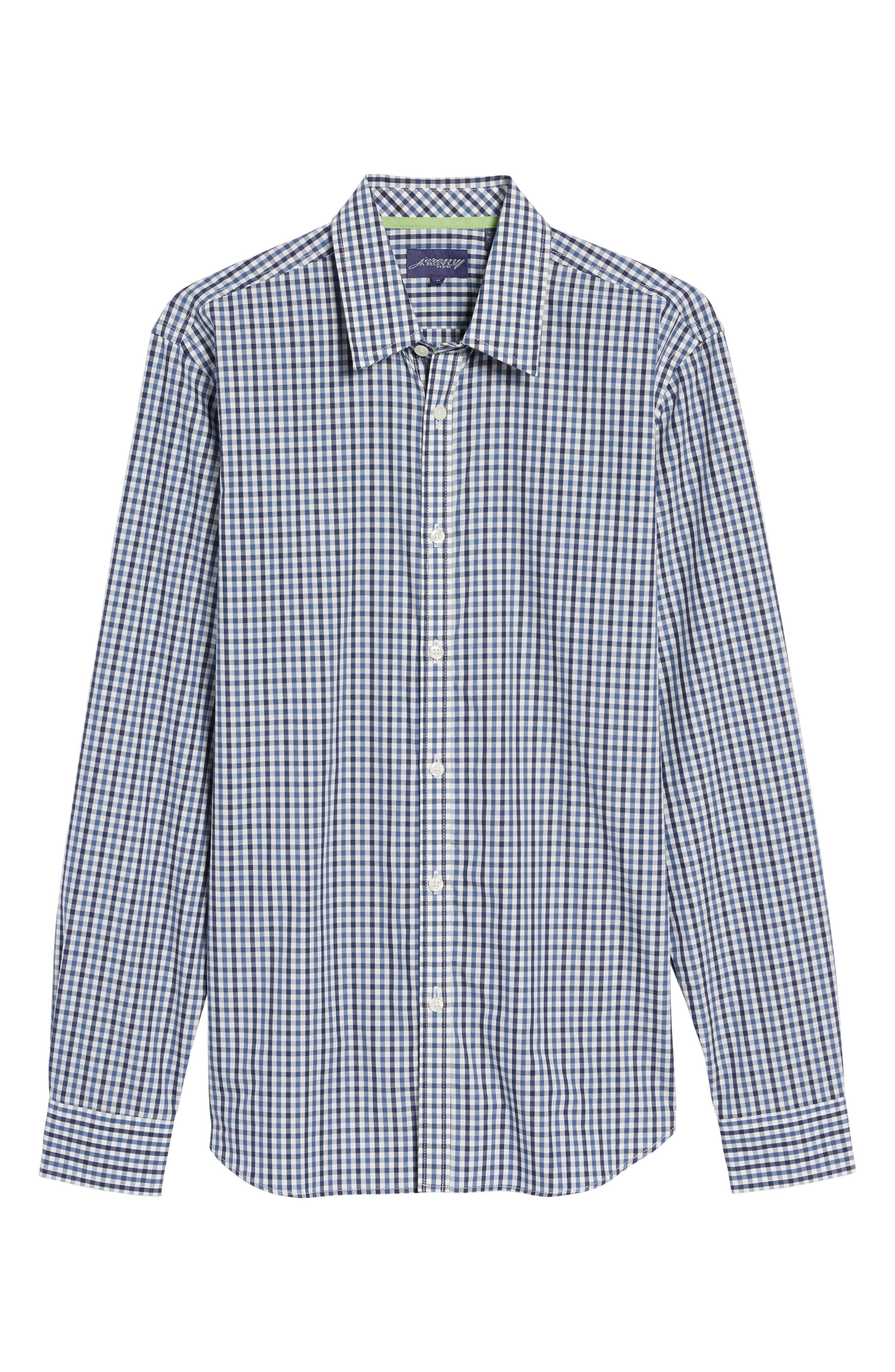 Comfort Fit Check Sport Shirt,                             Alternate thumbnail 6, color,                             424
