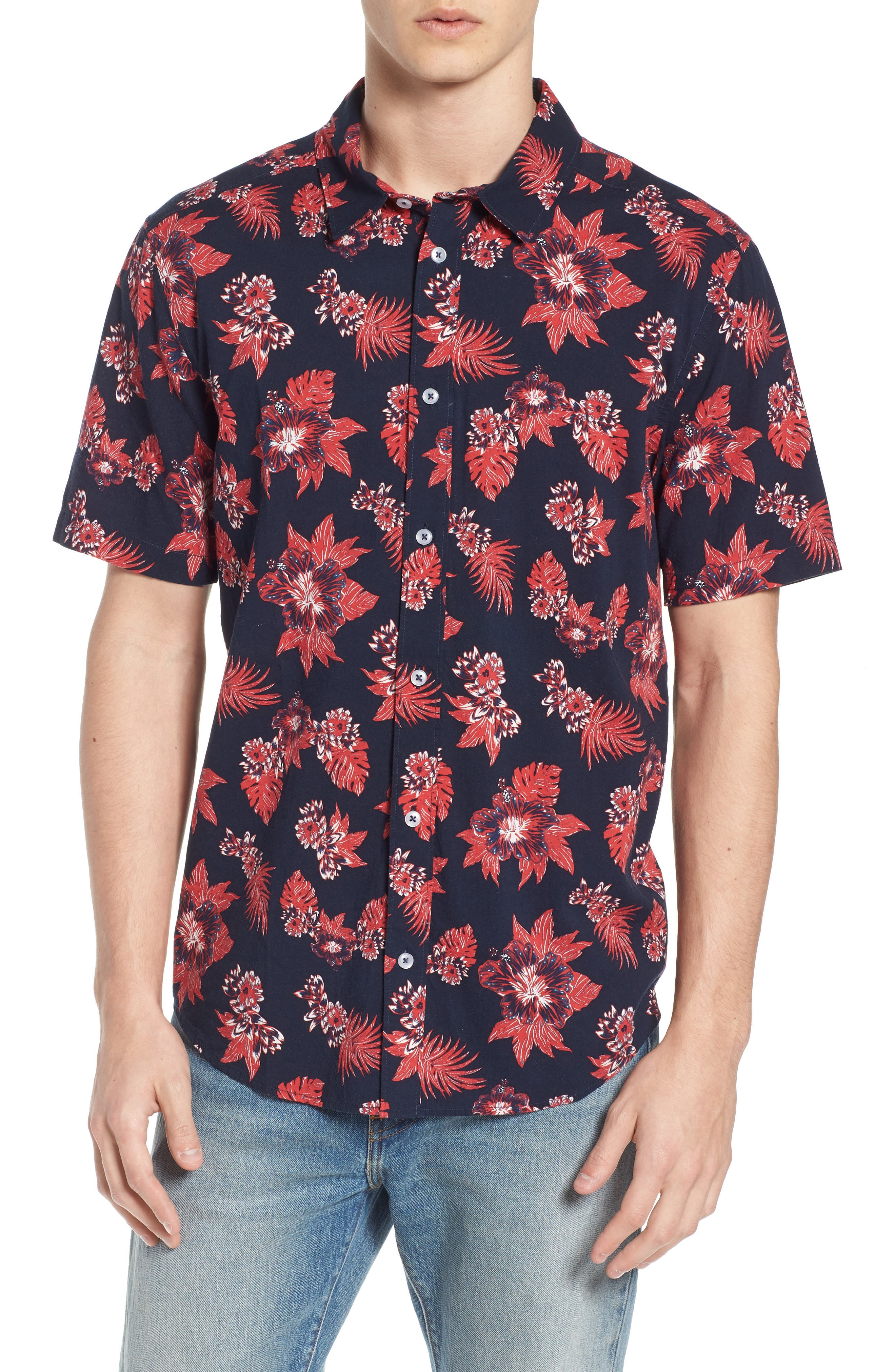 McMillian Woven Shirt,                         Main,                         color, 402