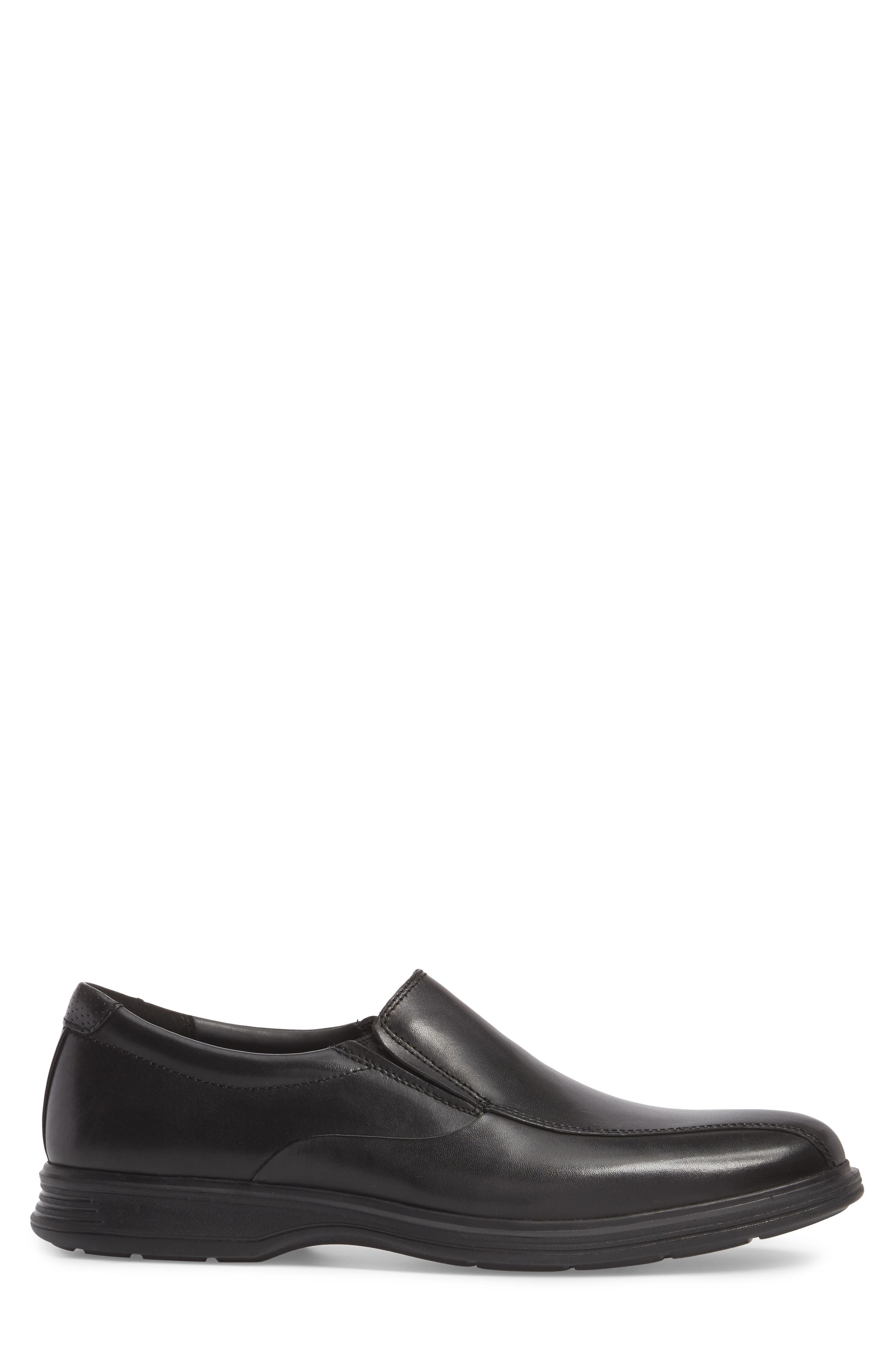 Dressports 2 Lite Venetian Loafer,                             Alternate thumbnail 3, color,                             BLACK LEATHER