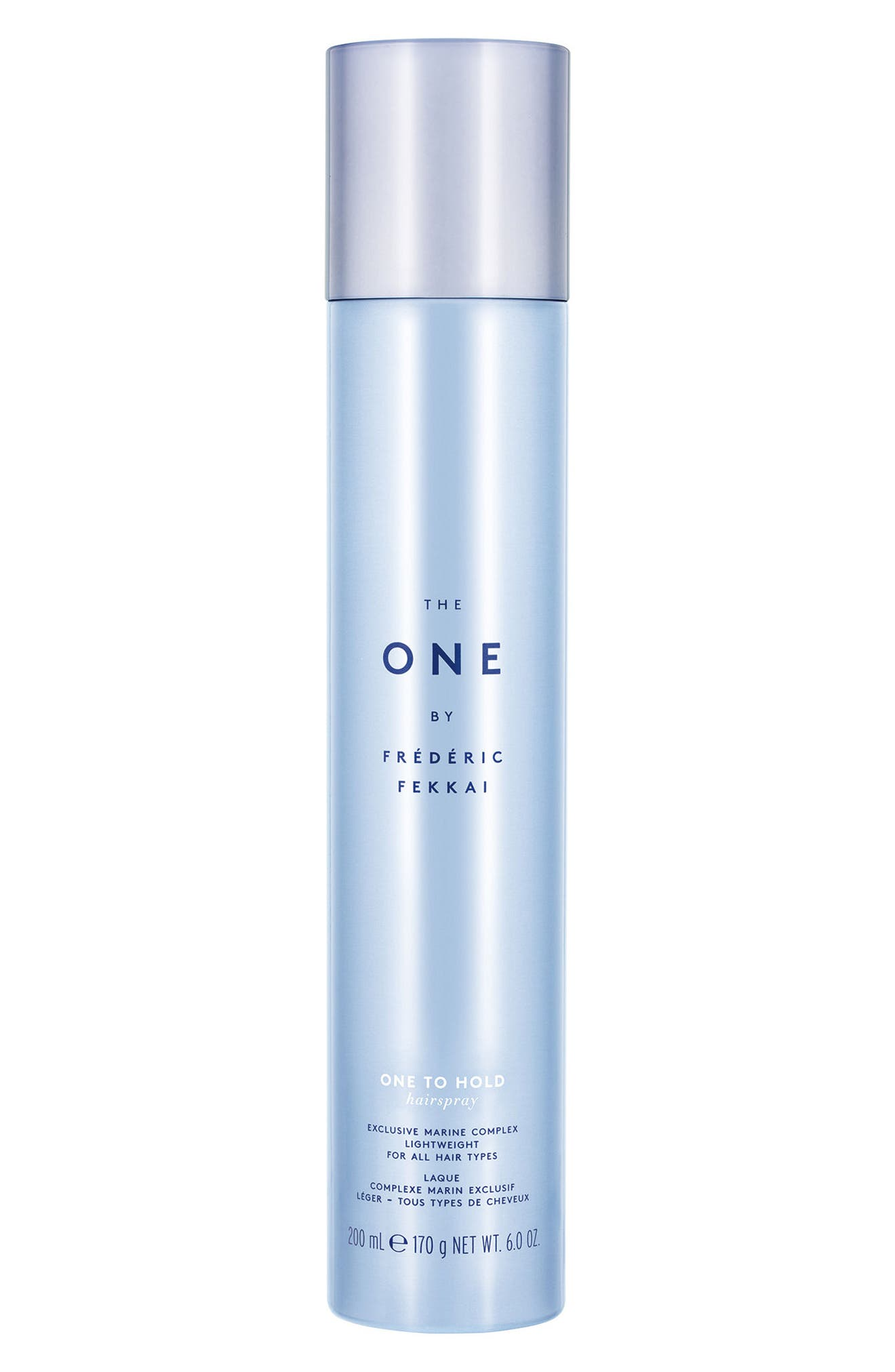 The One by Frédéric Fekkai One to Hold Hairspray,                             Main thumbnail 1, color,                             NO COLOR