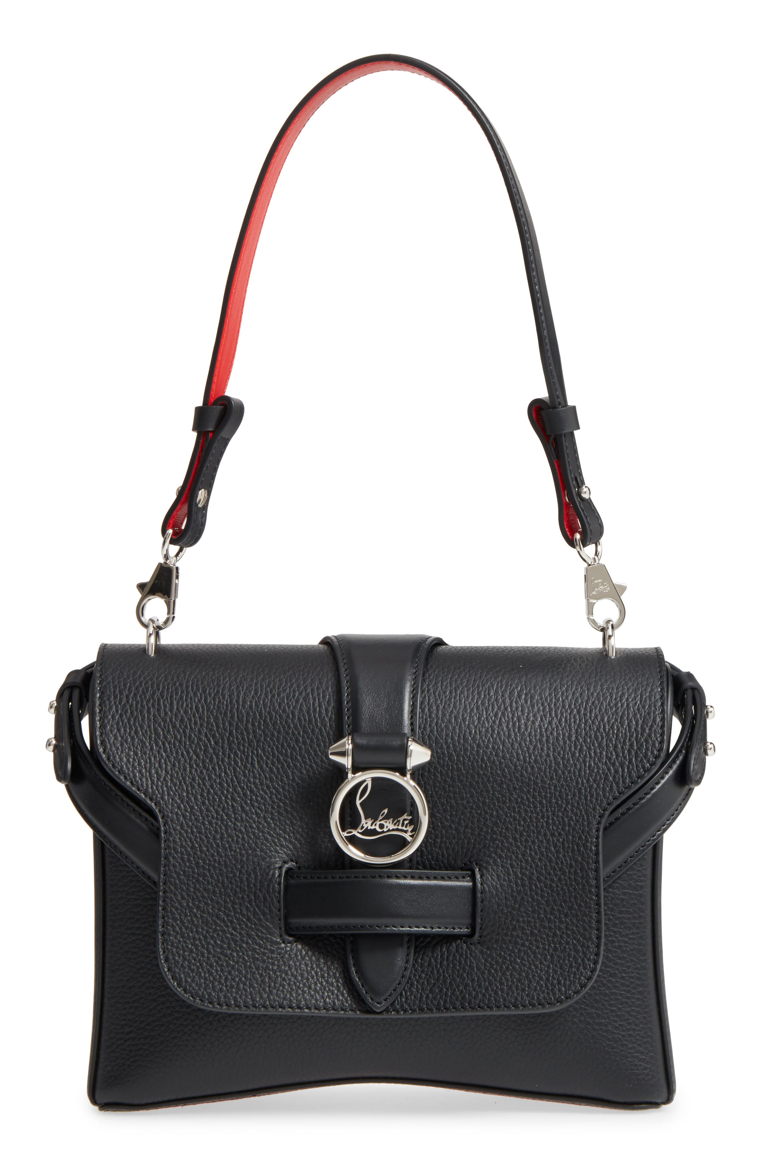 Small Rubylou Calfskin Leather Bag,                             Main thumbnail 1, color,                             007