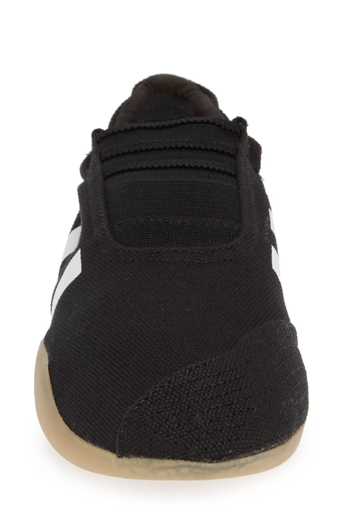 Taekwondo Slip-On Sneaker,                             Alternate thumbnail 4, color,                             CORE BLACK/ WHITE/ GUM 3