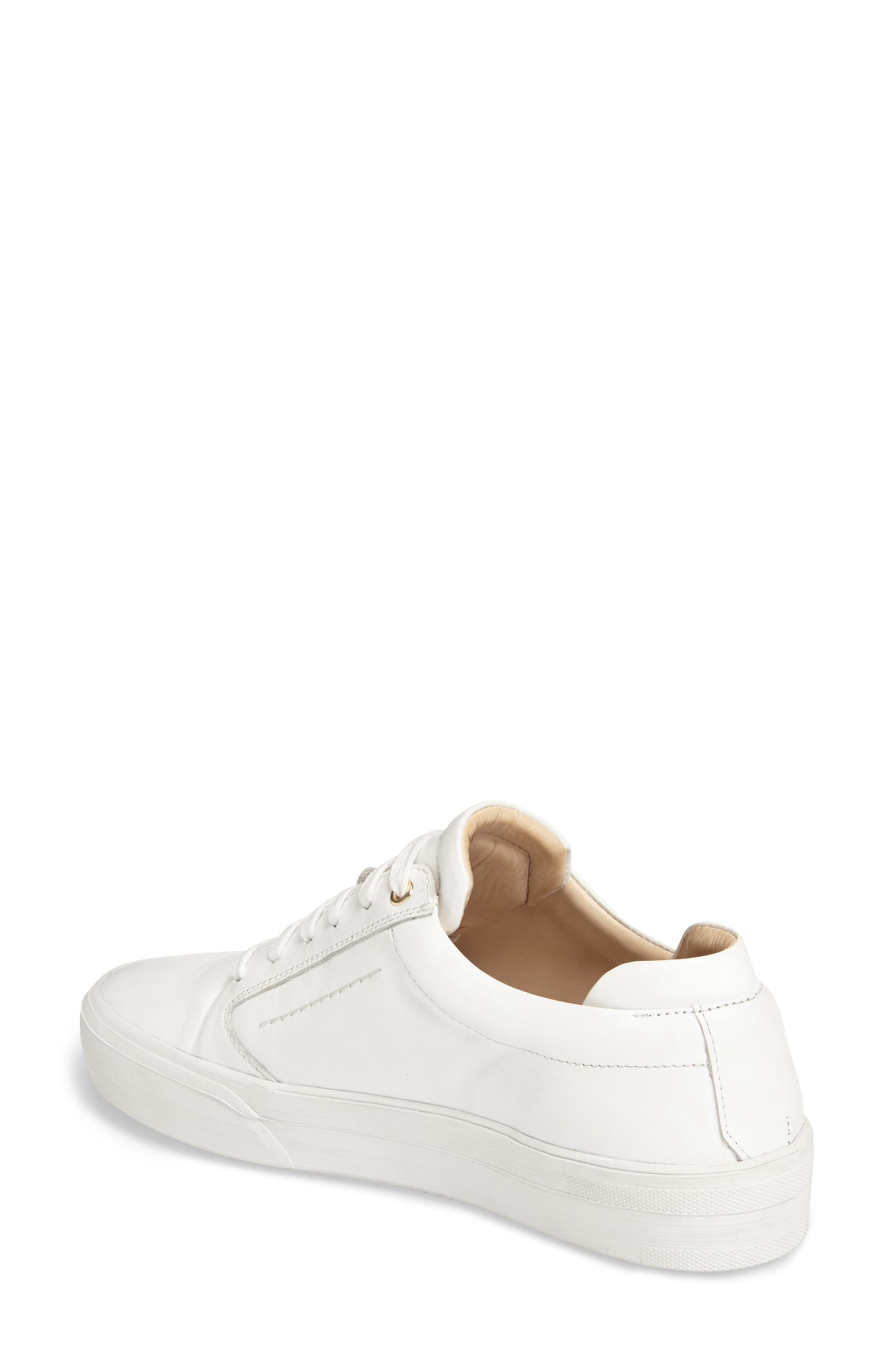 Lalibela Sneaker,                             Alternate thumbnail 2, color,                             WHITE/PATENT WHITE