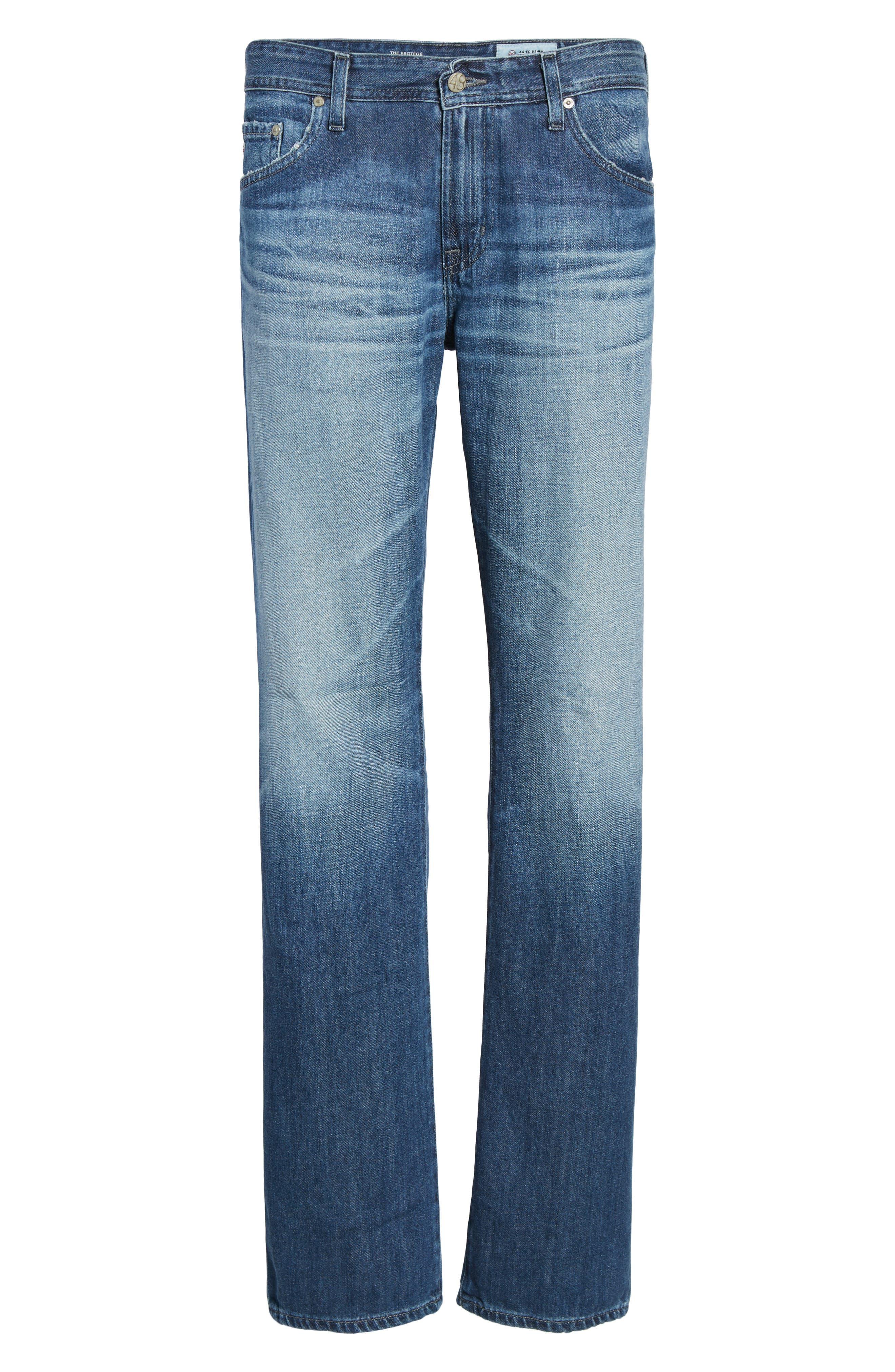 Protégé Relaxed Fit Jeans,                             Alternate thumbnail 6, color,                             472