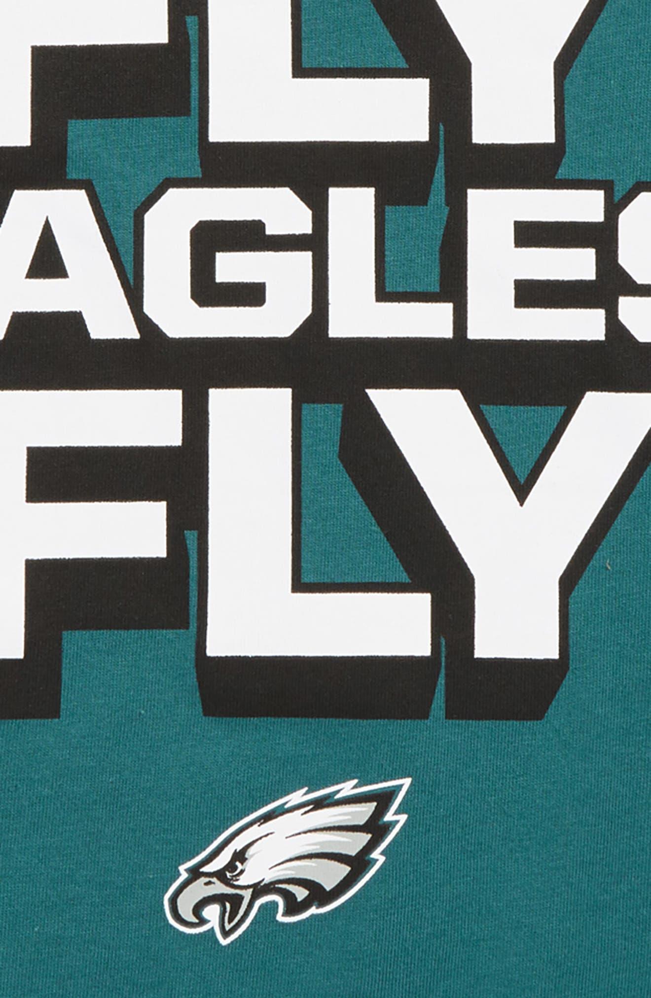 Dry Hyperlocal NFL Philadelphia Eagles T-Shirt,                             Alternate thumbnail 2, color,                             344
