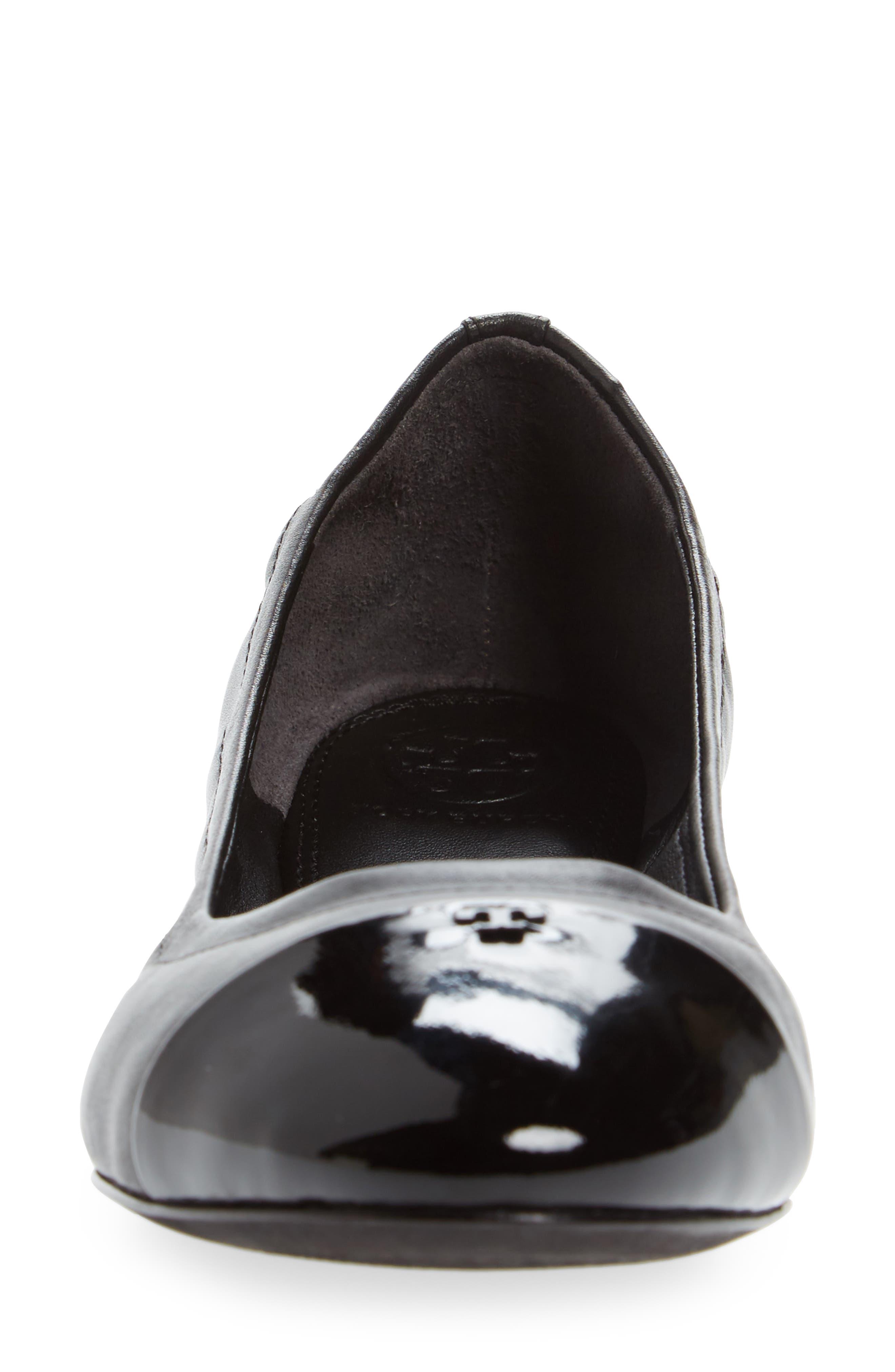 Shelby Cap Toe Ballet Flat,                             Alternate thumbnail 4, color,