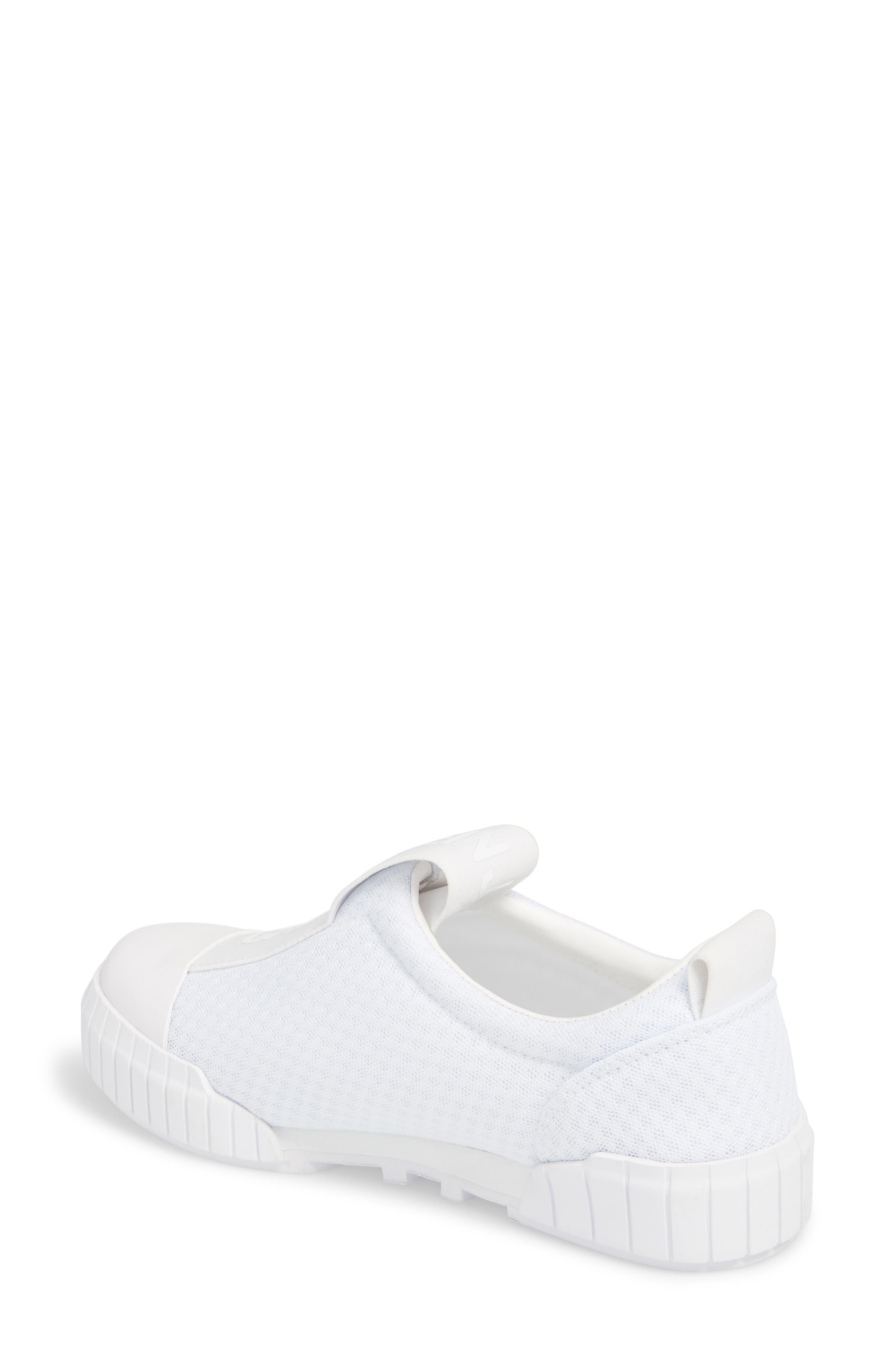 Bamina Slip-On Sneaker,                             Alternate thumbnail 2, color,                             WHITE