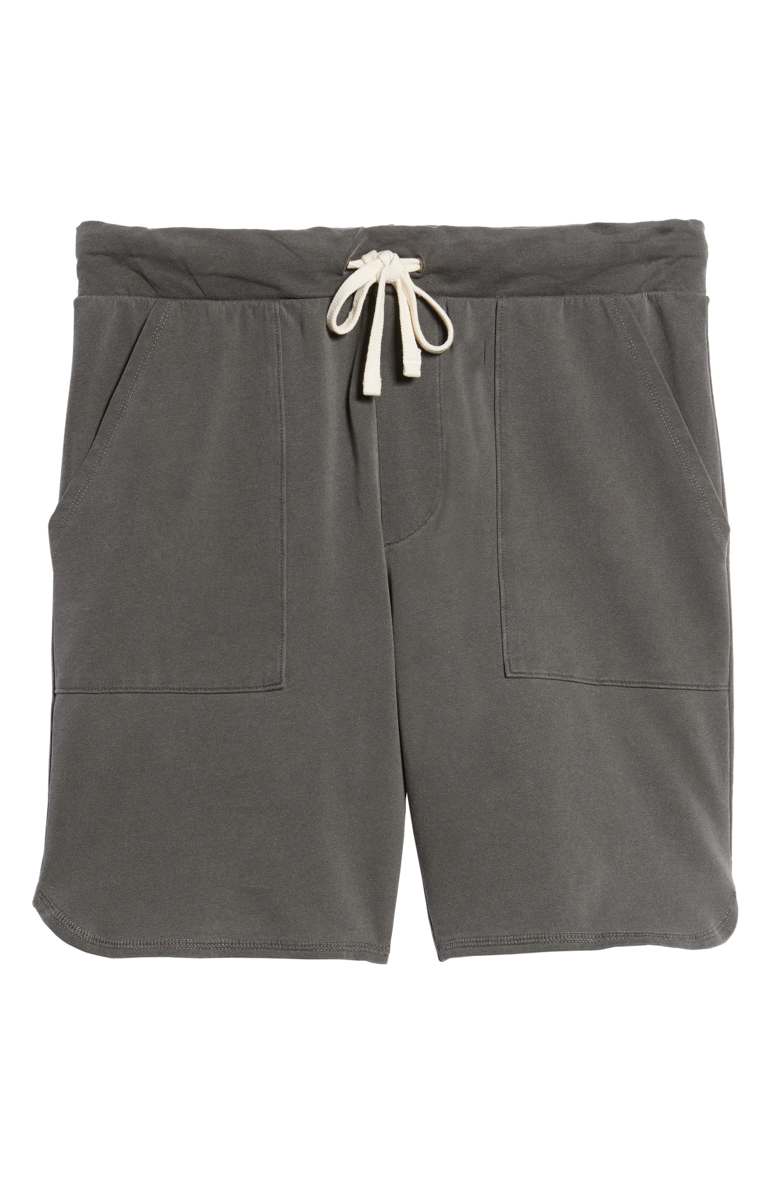 Terrycloth Scallop Shorts,                             Alternate thumbnail 6, color,                             009