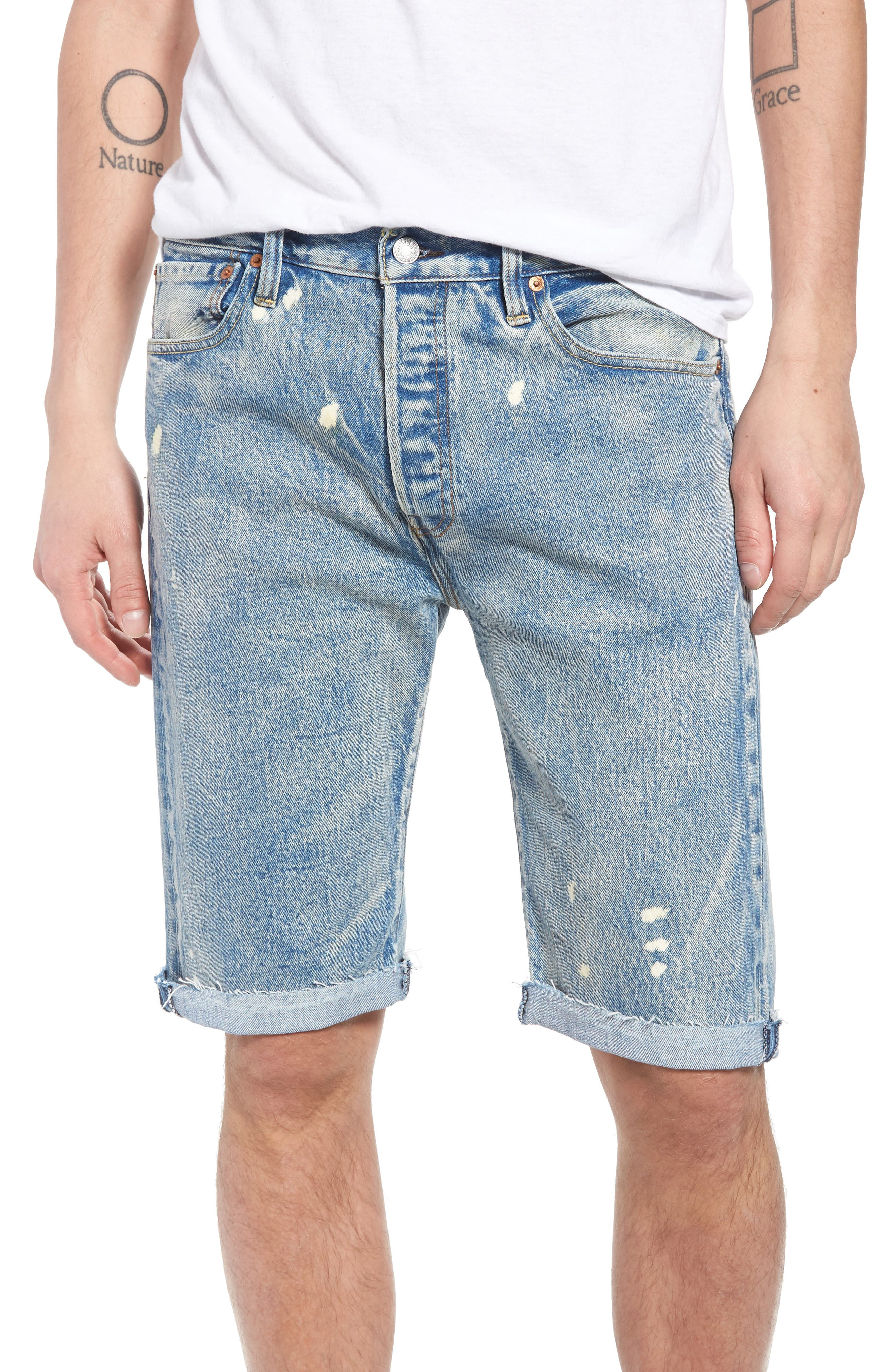 511<sup>™</sup> Slim Fit Cutoff Denim Shorts,                         Main,                         color, 420