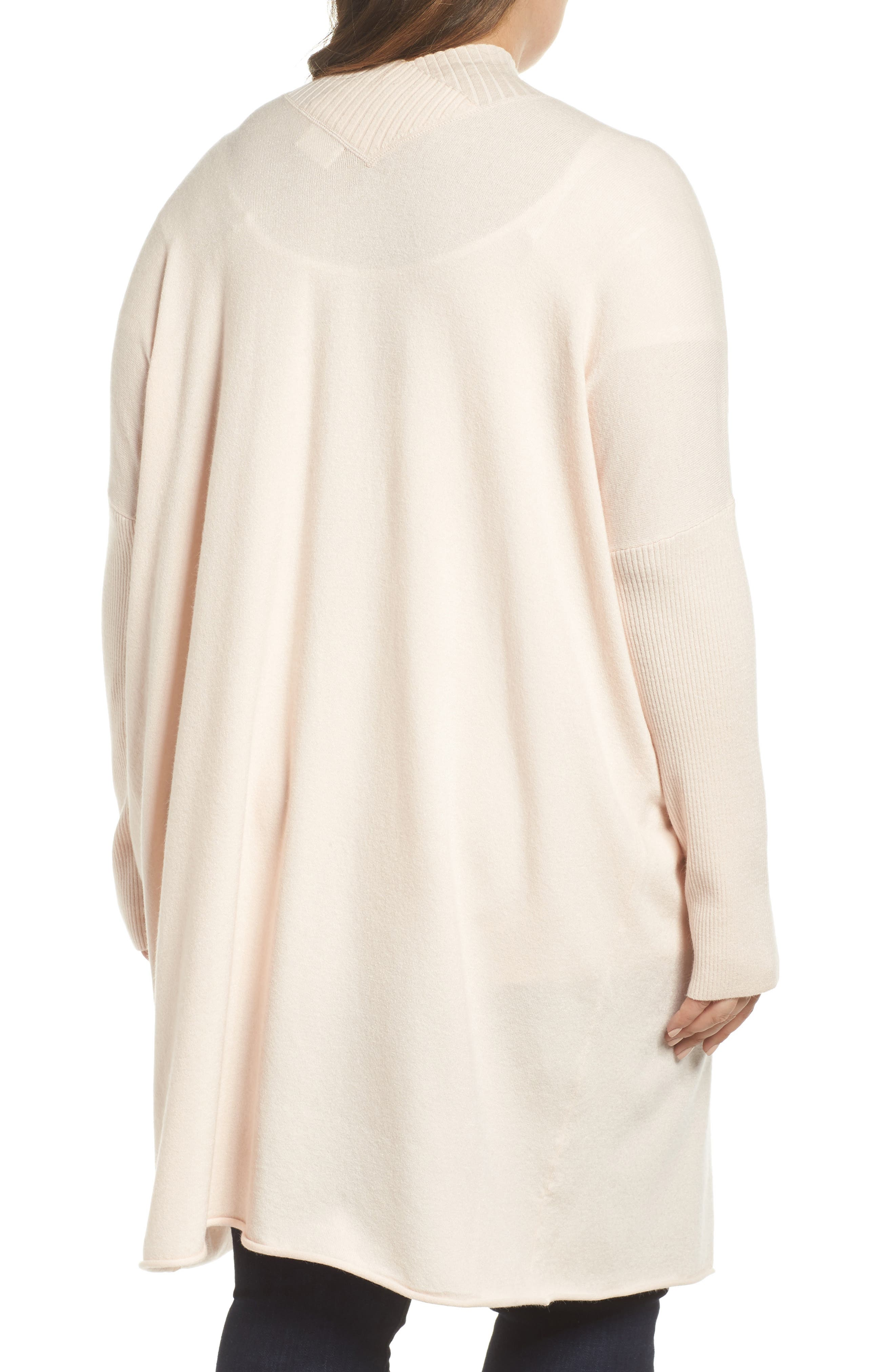 Off-Duty Long Open Front Cardigan,                             Alternate thumbnail 6, color,