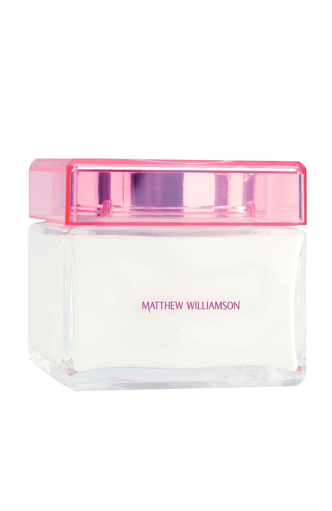 Matthew Williamson Luxurious Body Cream,                             Main thumbnail 1, color,                             000