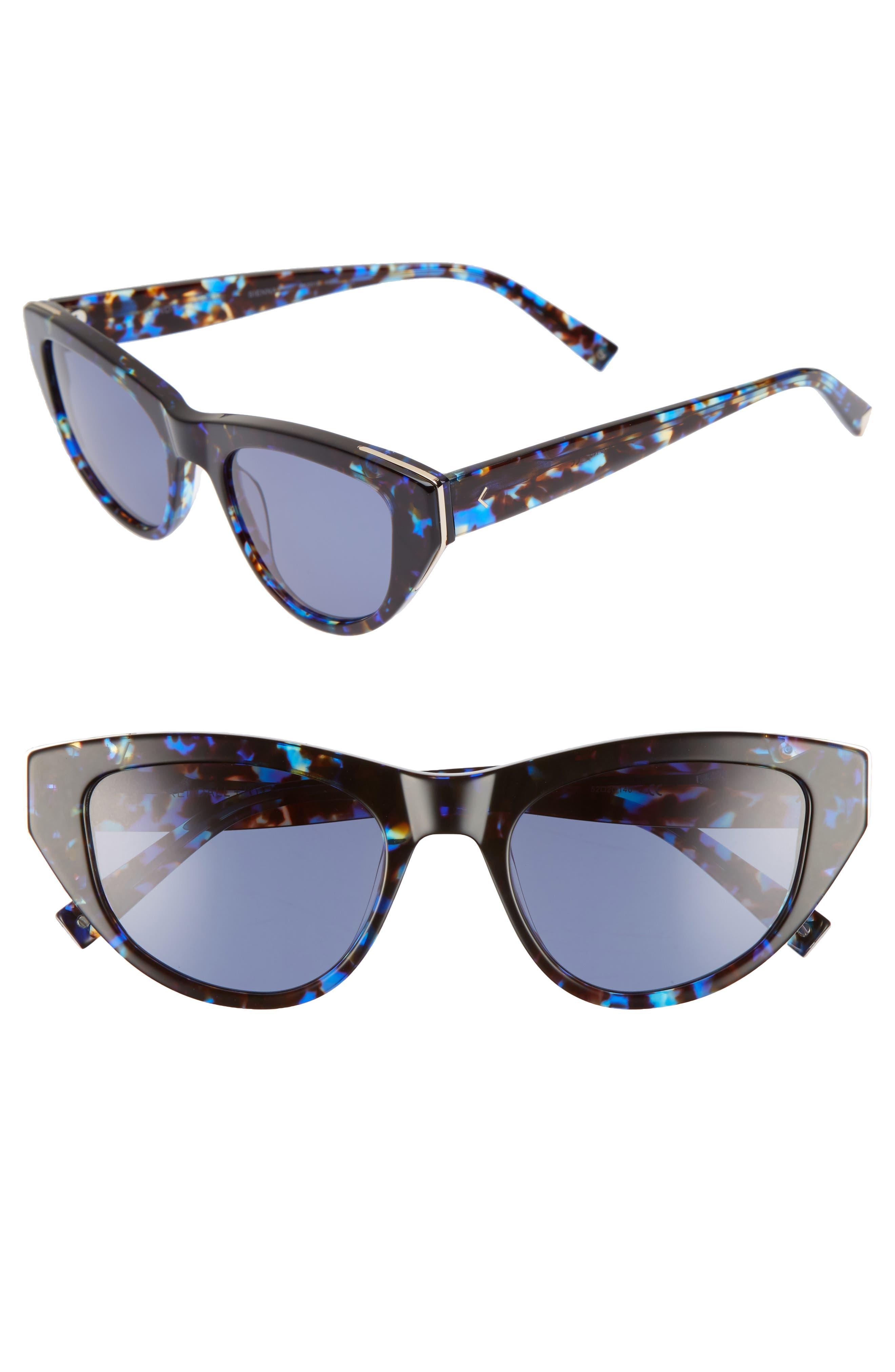 Sienna 52mm Retro Cat Eye Sunglasses,                             Main thumbnail 3, color,