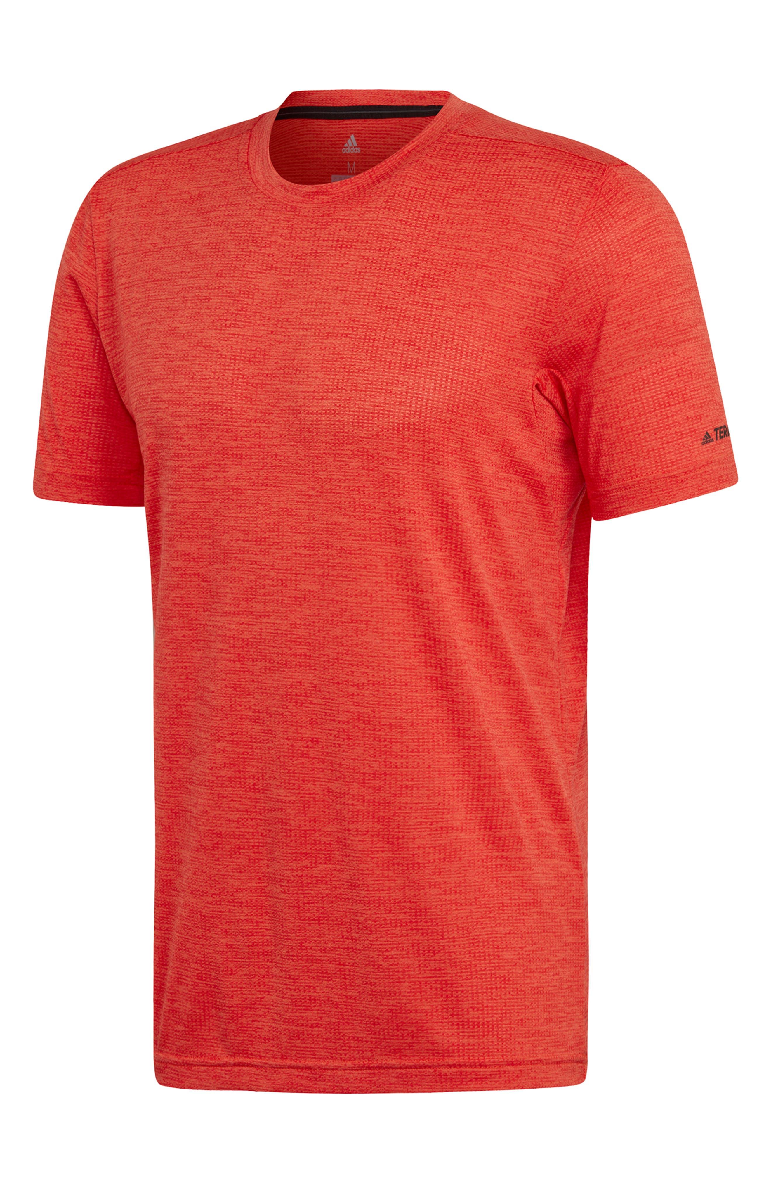 Adidas Tivid Climalite T-Shirt, Orange